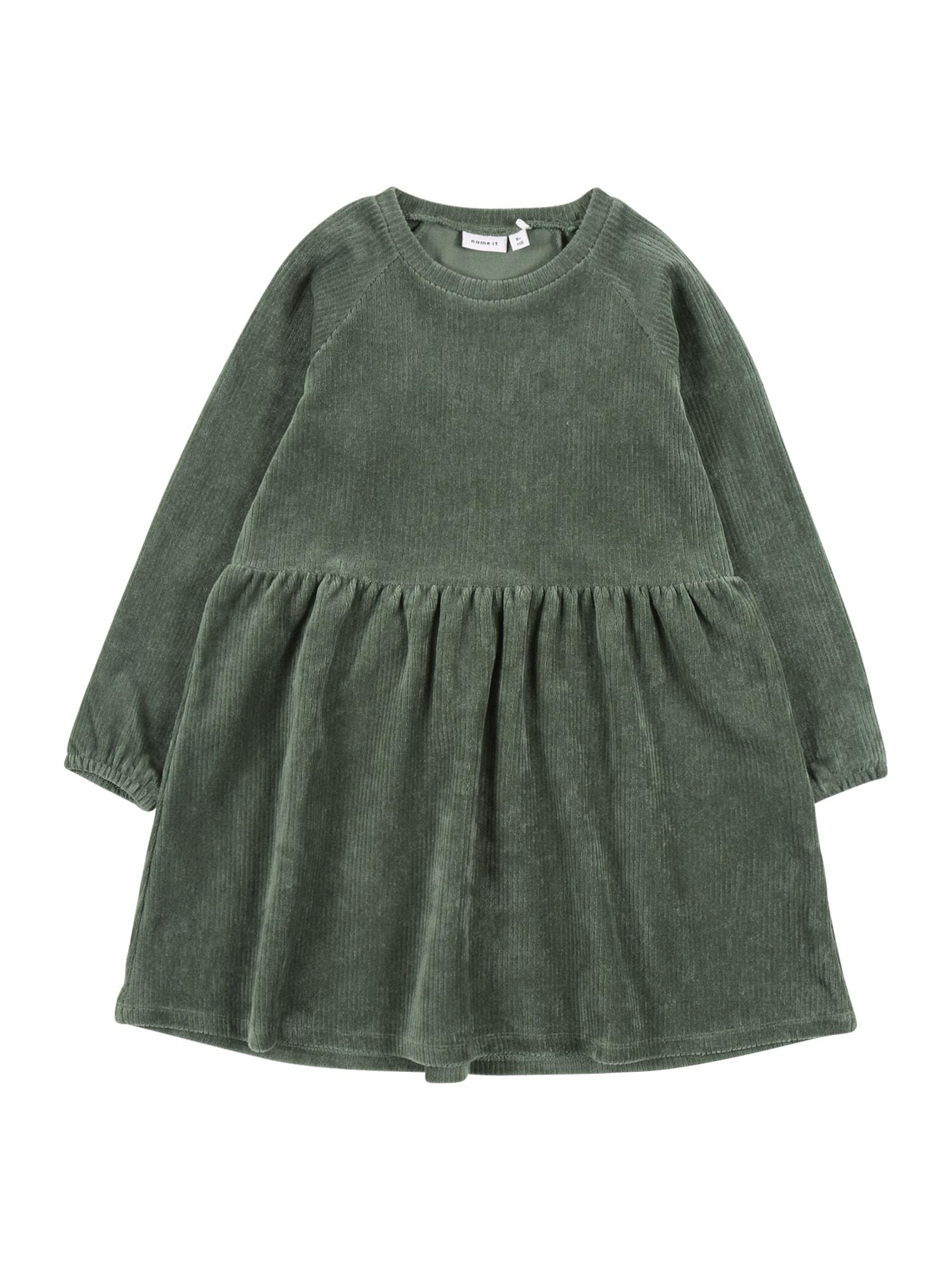 NAME IT Suknelė žalia