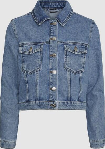 Vero Moda Curve Mikky langärmelige Jeansjacke mit Waschung
