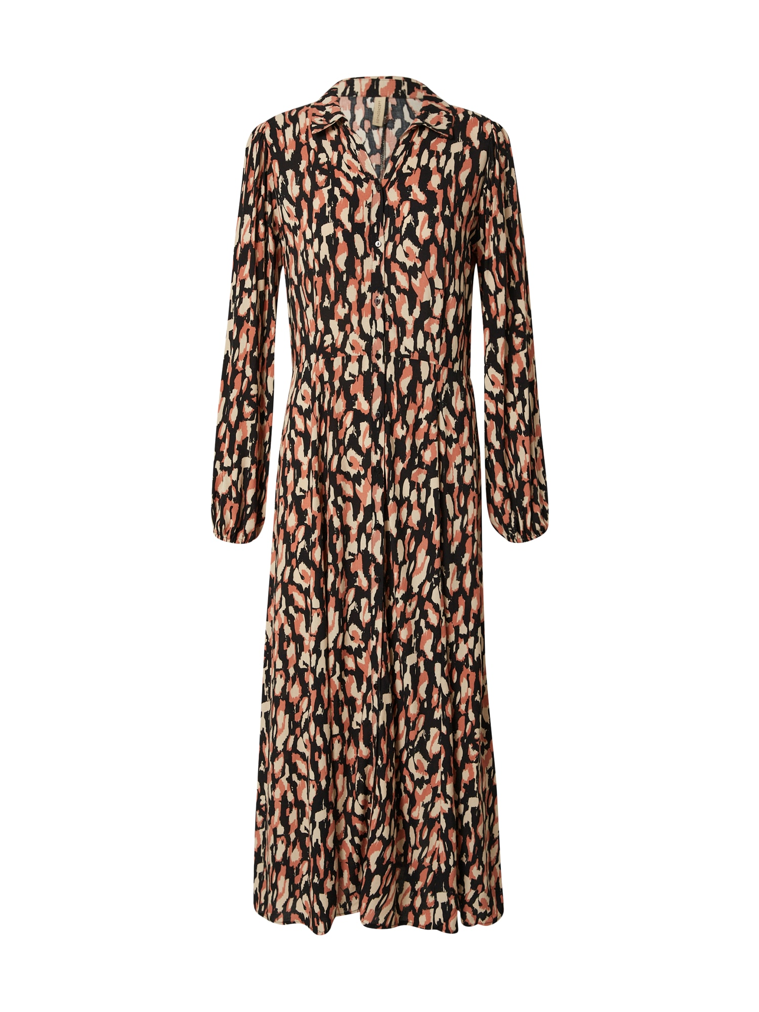 Soyaconcept Košilové šaty 'TIFA 3'  černá / béžová / melounová