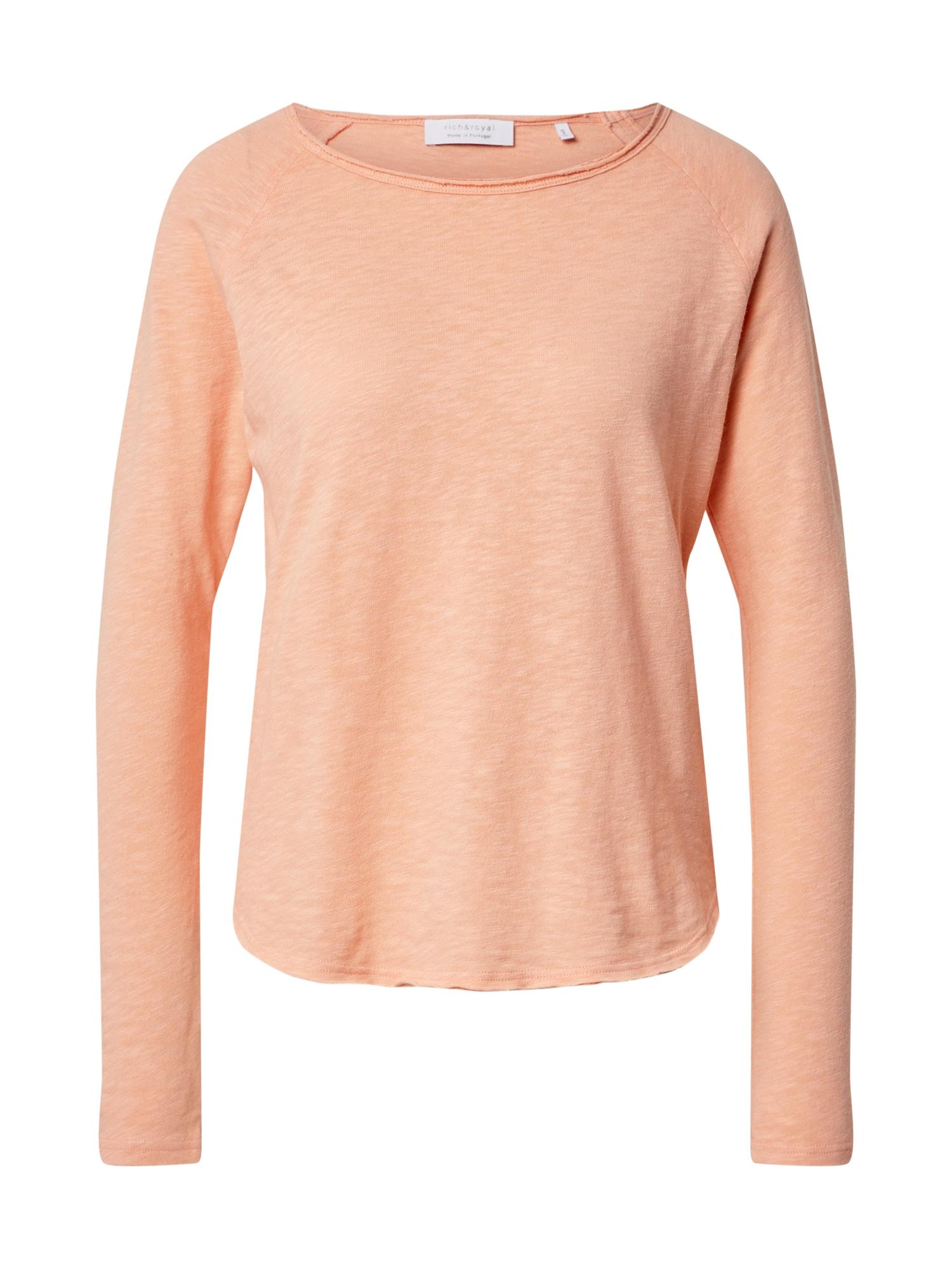 Rich & Royal Marškinėliai persikų spalva