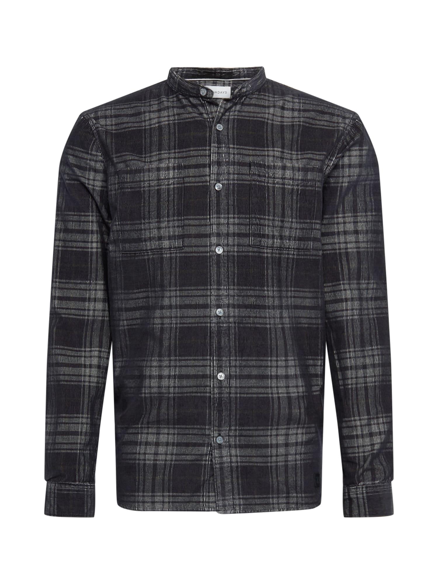 NOWADAYS Marškiniai juoda / antracito