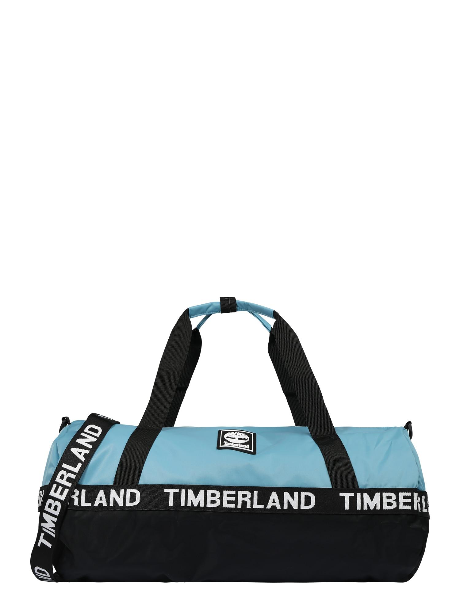 TIMBERLAND Kelioninis krepšys šviesiai mėlyna / balta / juoda