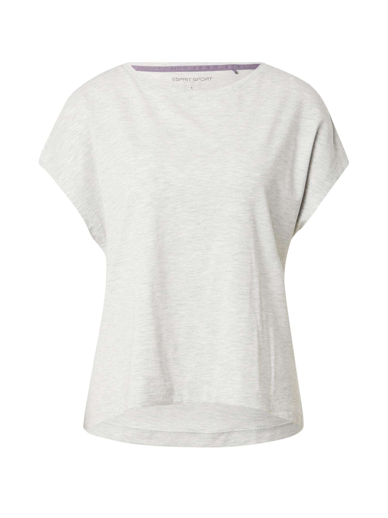 ESPRIT SPORT Sportiniai marškinėliai pilka