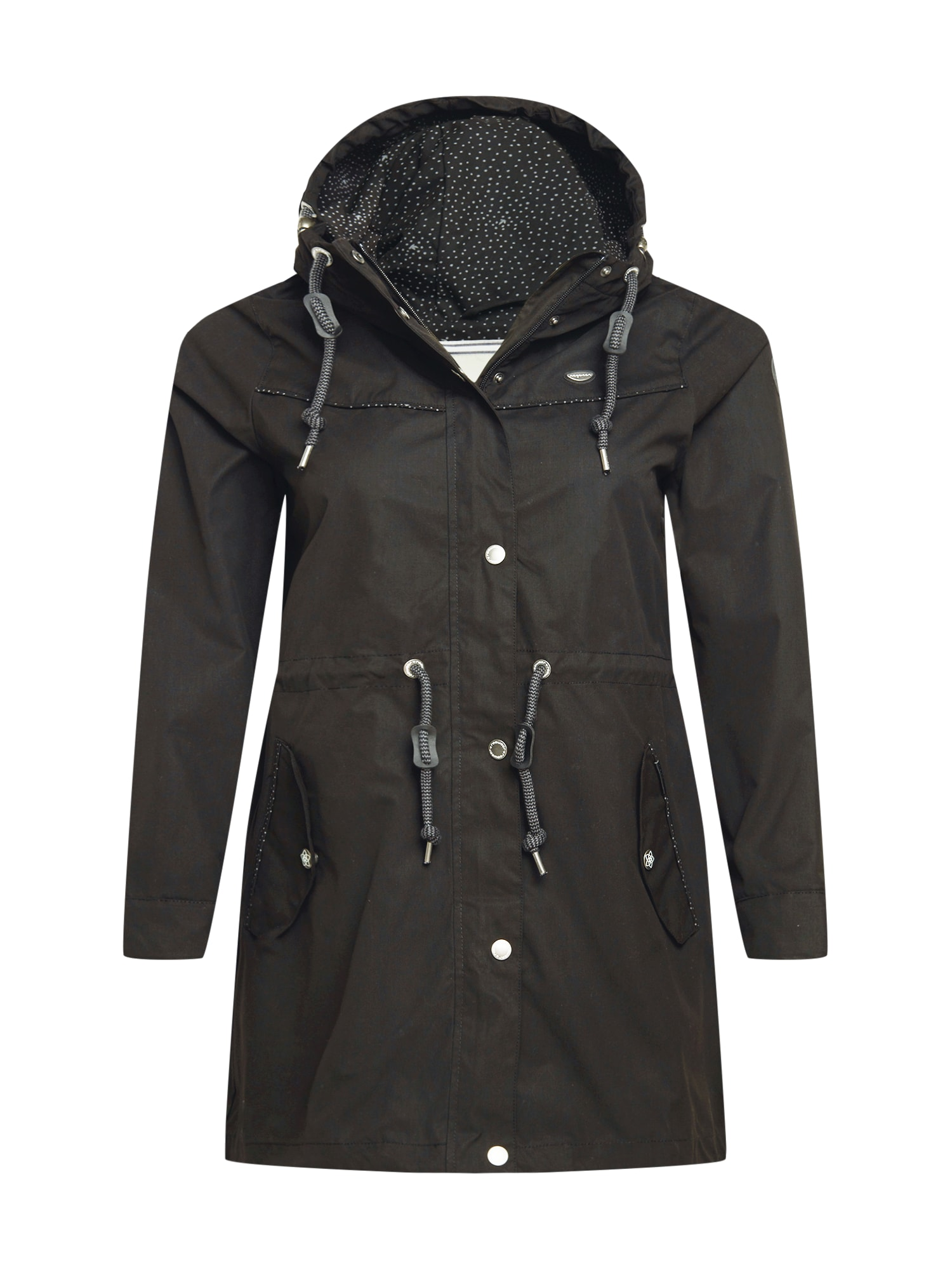 Ragwear Plus Demisezoninis paltas juoda