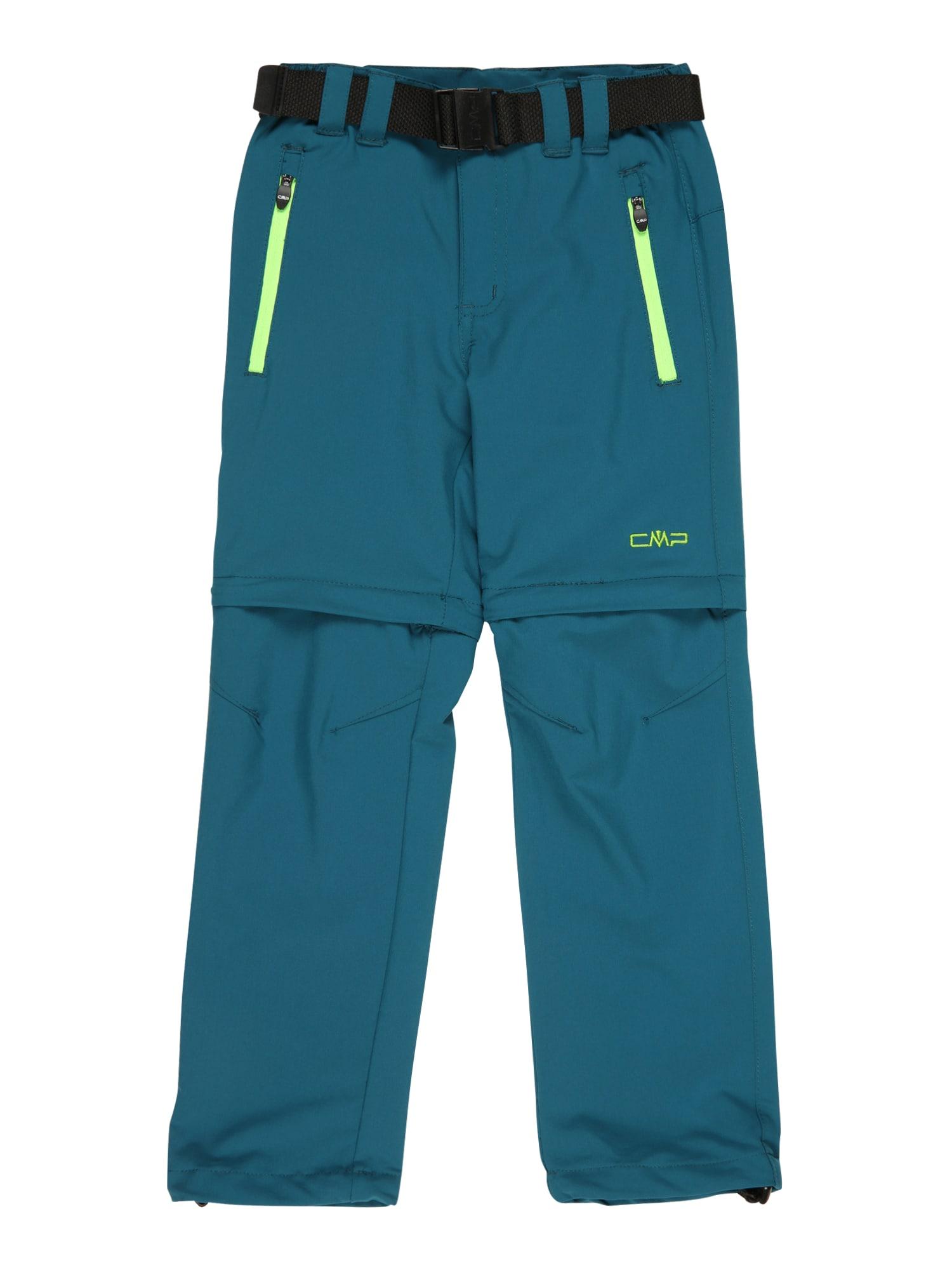 CMP Laisvalaikio kelnės pastelinė mėlyna / žaliosios citrinos spalva