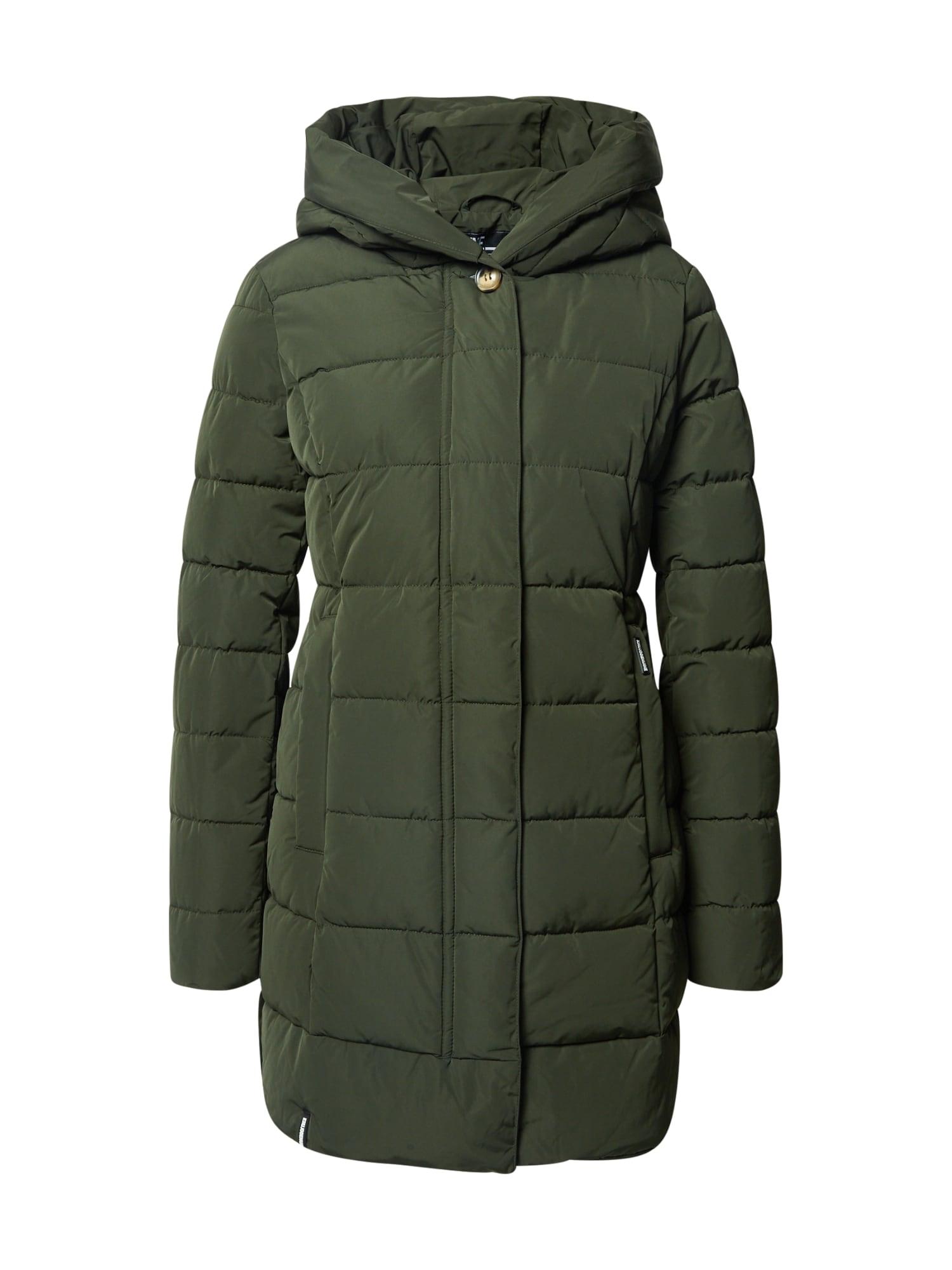 khujo Přechodný kabát 'Silla'  tmavě zelená