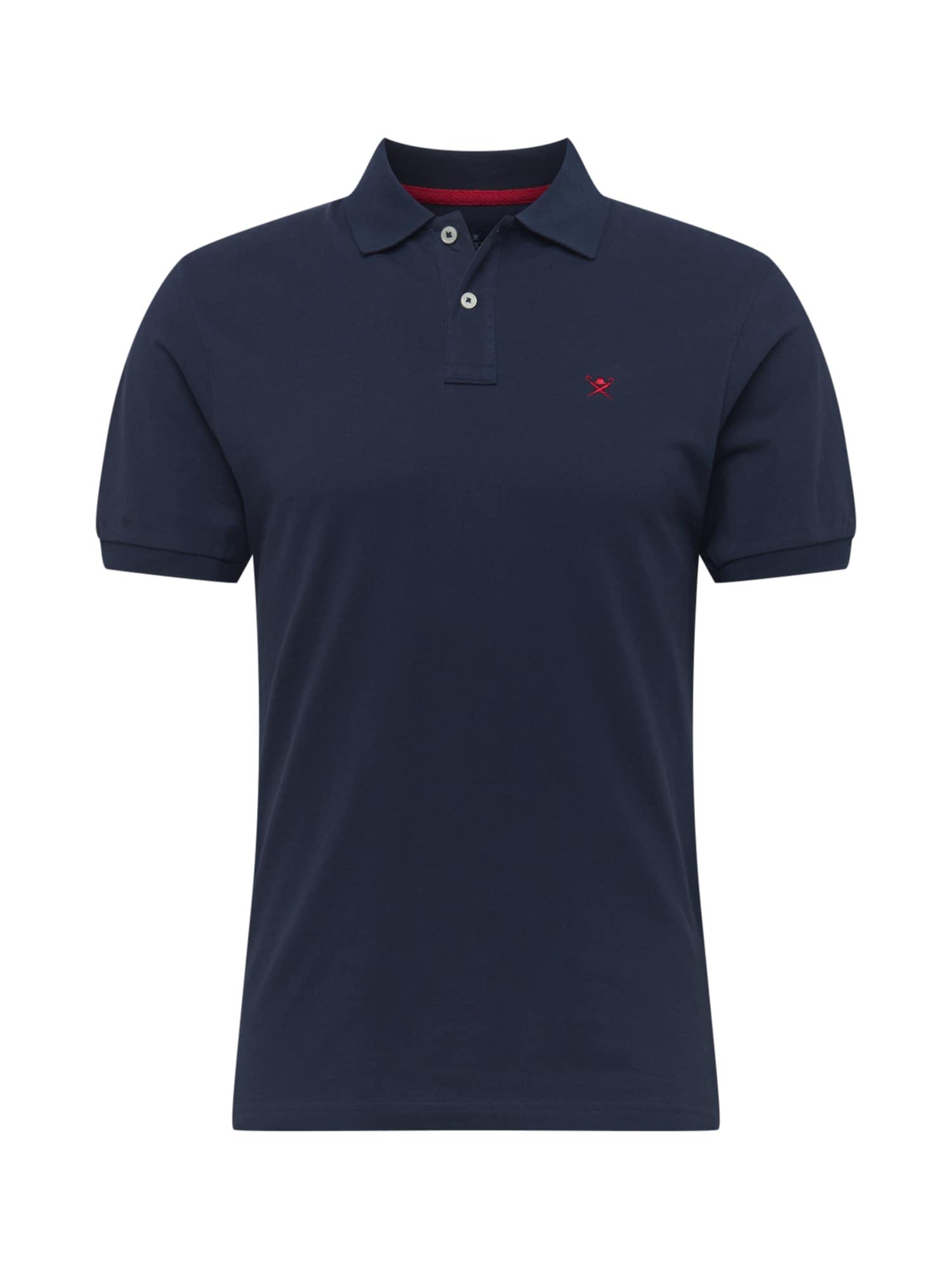 Hackett London Marškinėliai nakties mėlyna / raudona
