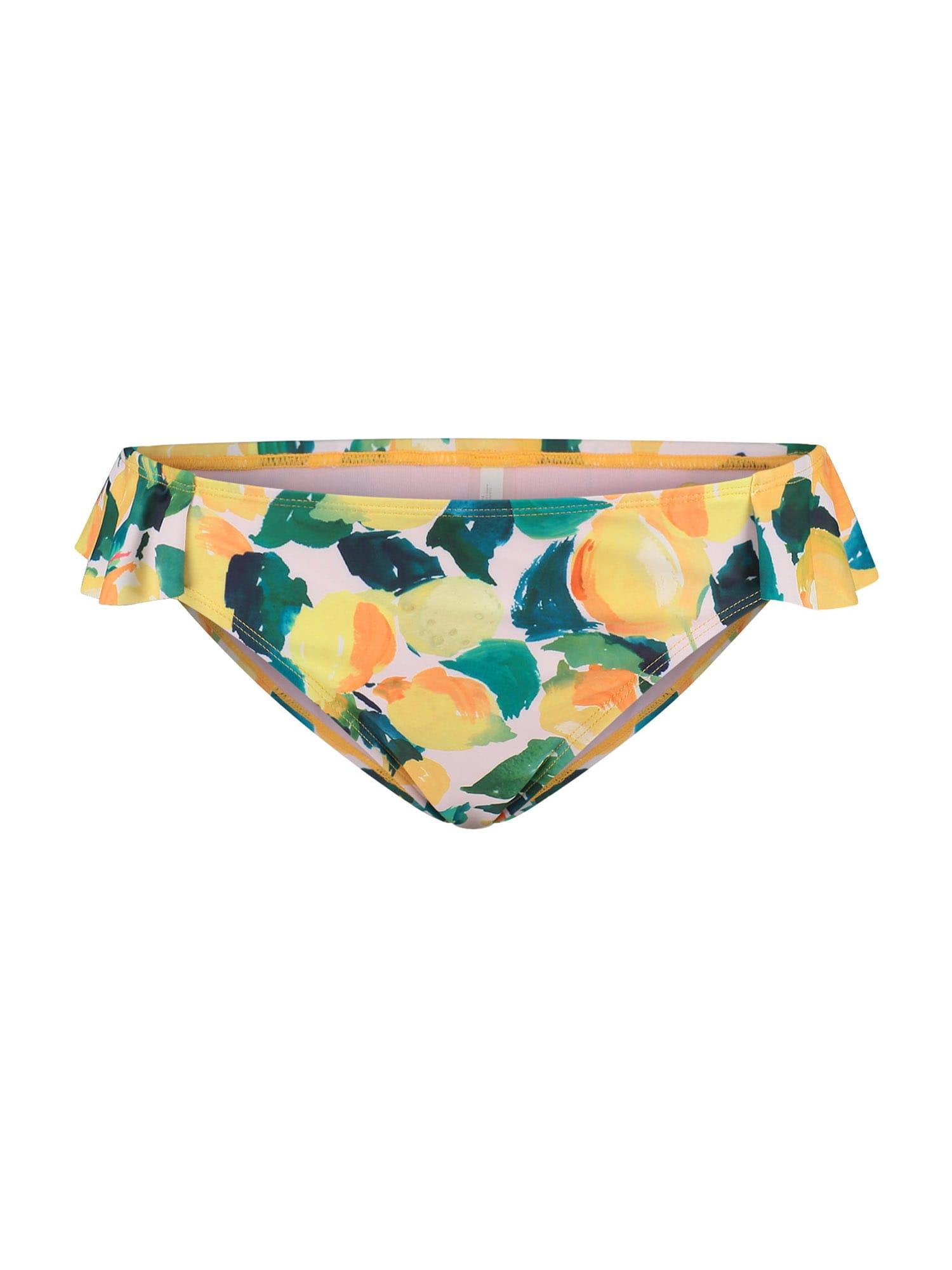 Shiwi Bikinio kelnaitės balta / oranžinė / benzino spalva / tamsiai žalia / šviesiai žalia