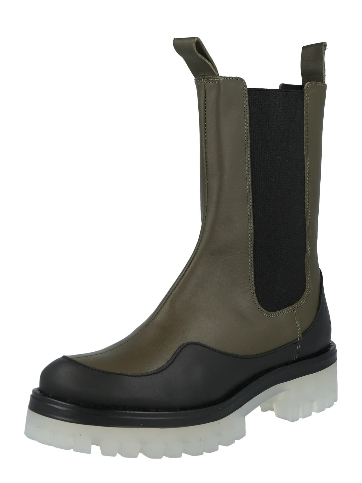 Ca Shott Auliniai batai rusvai žalia / įdegio spalva