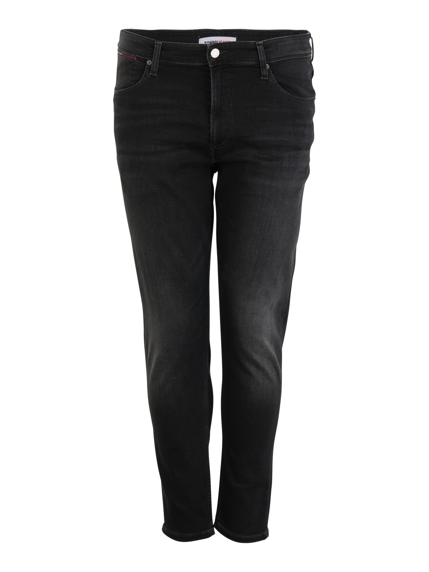 Tommy Jeans Plus Džinsai juodo džinso spalva