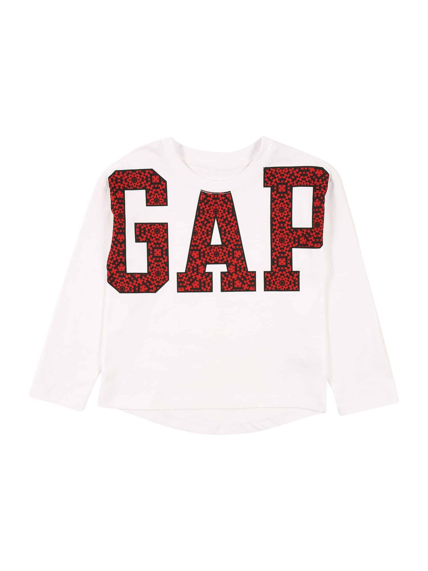GAP Marškinėliai balta / raudona