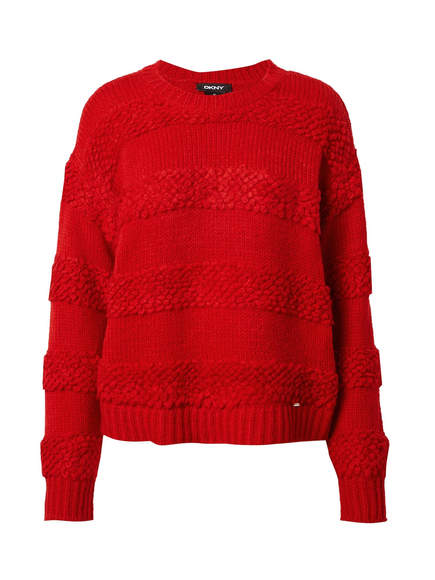 DKNY Megztinis raudona