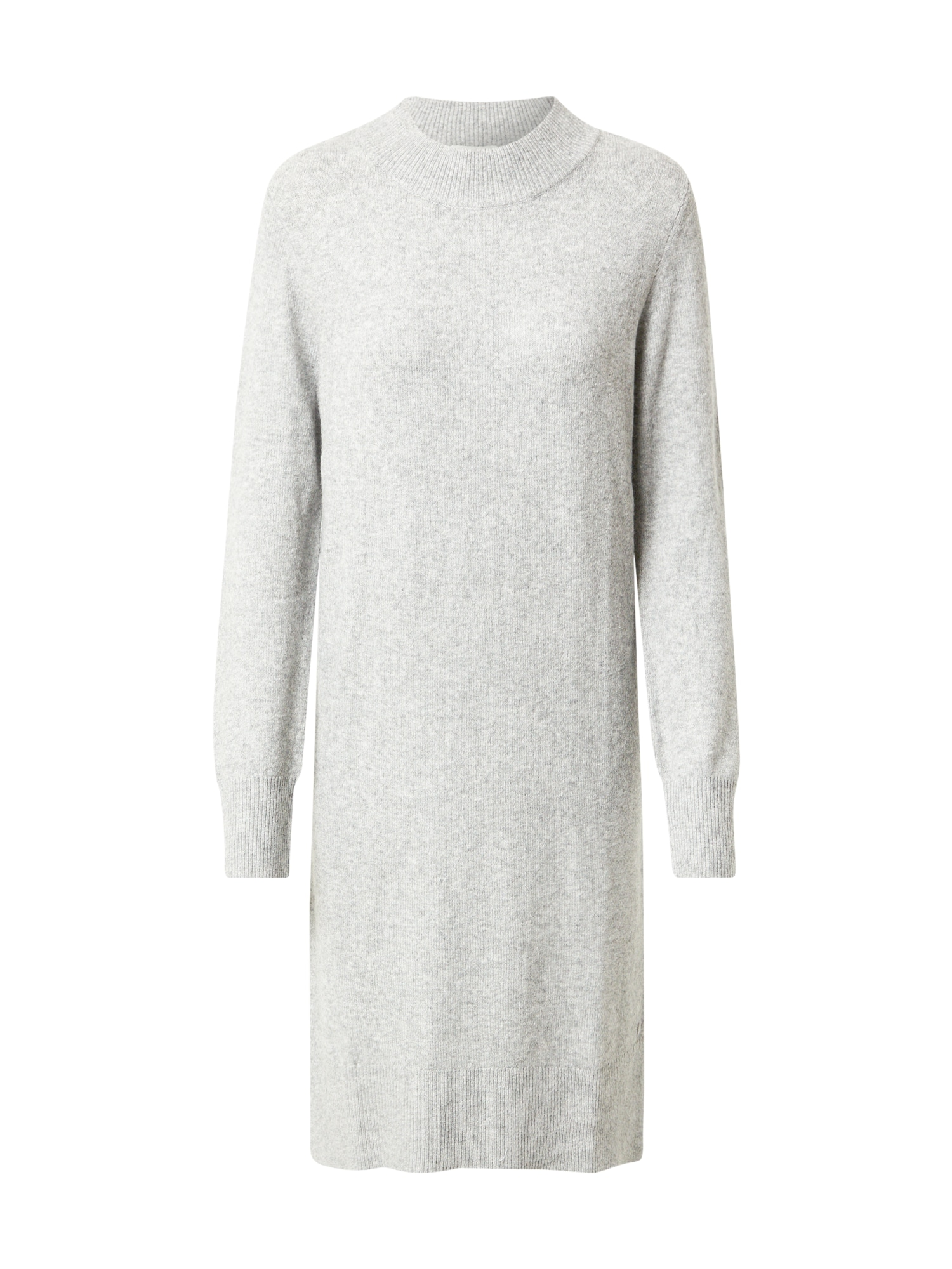 TOM TAILOR Úpletové šaty  šedý melír