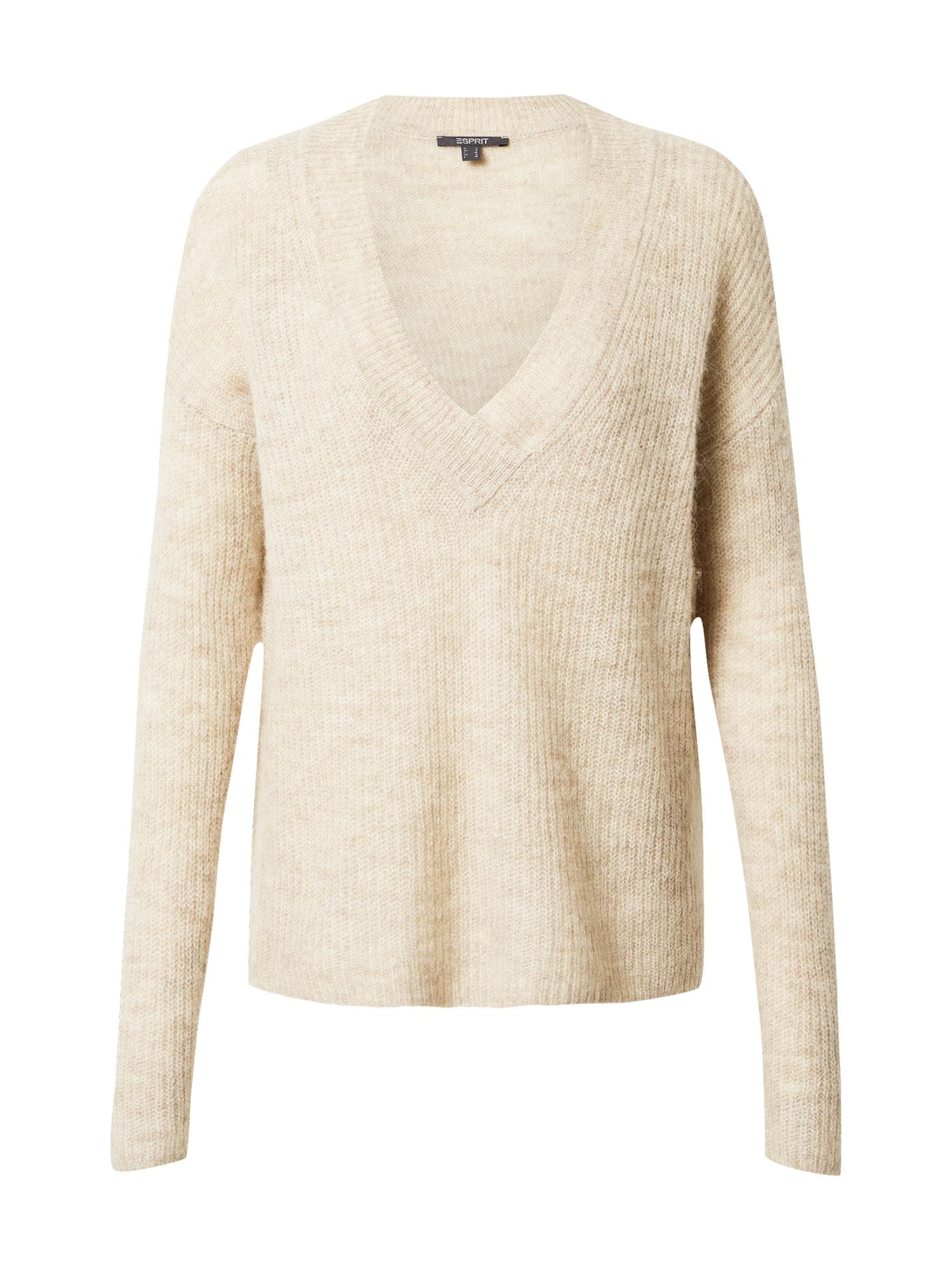 Esprit Collection Megztinis smėlio