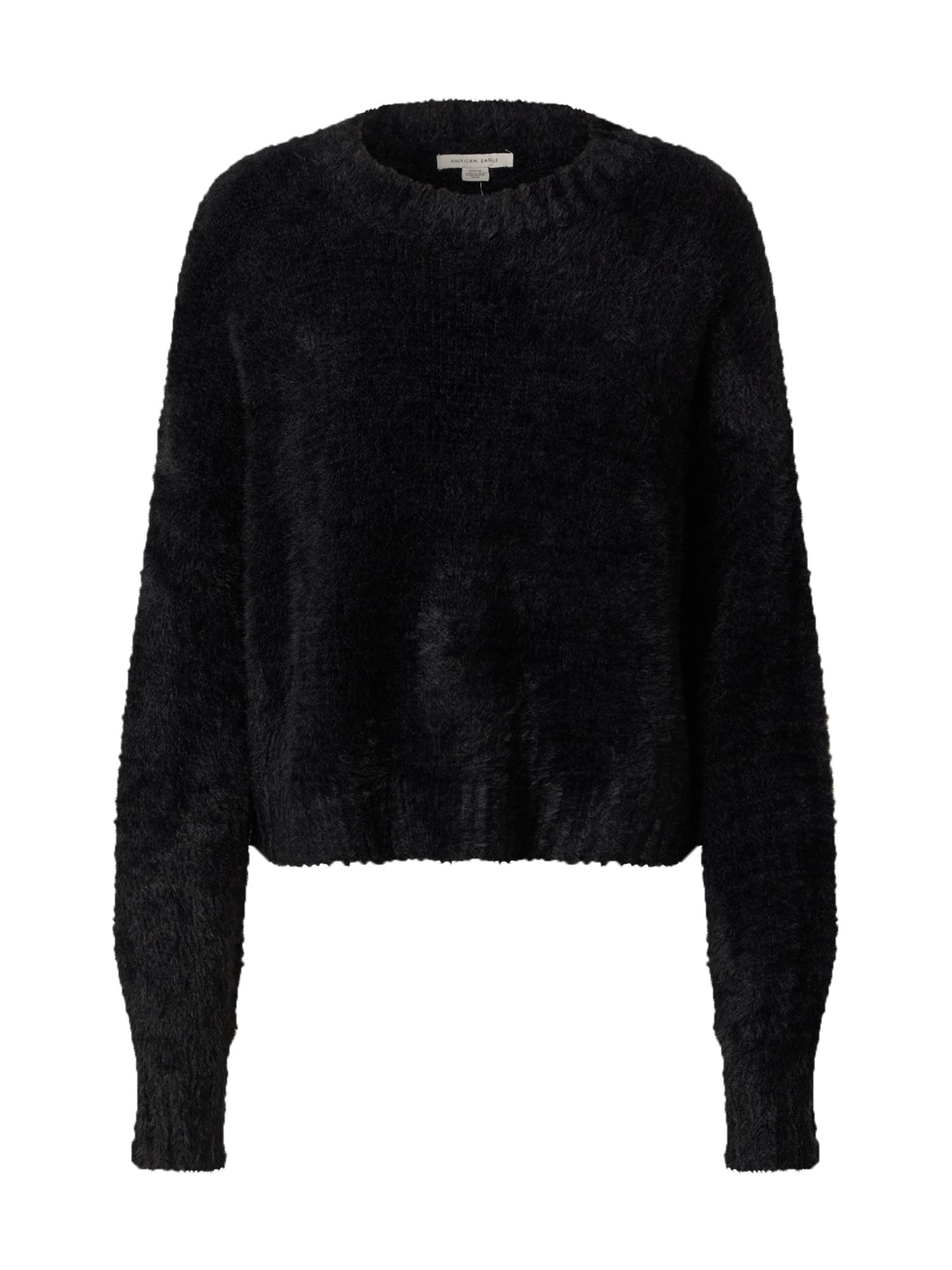 American Eagle Megztinis juoda
