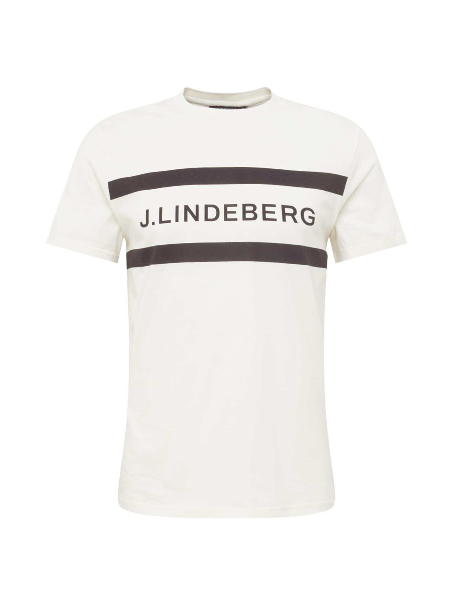 J.Lindeberg Marškinėliai balta / juoda