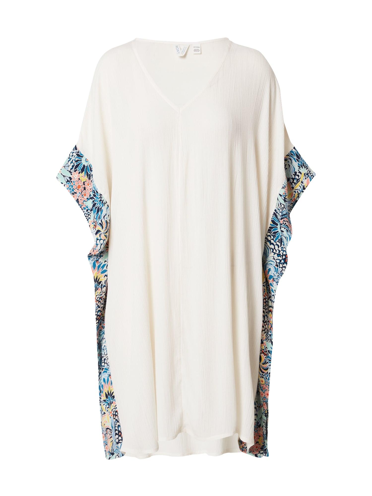 ROXY Paplūdimio suknelė 'MARINE BLOOM' balta / tamsiai mėlyna jūros spalva / mišrios spalvos