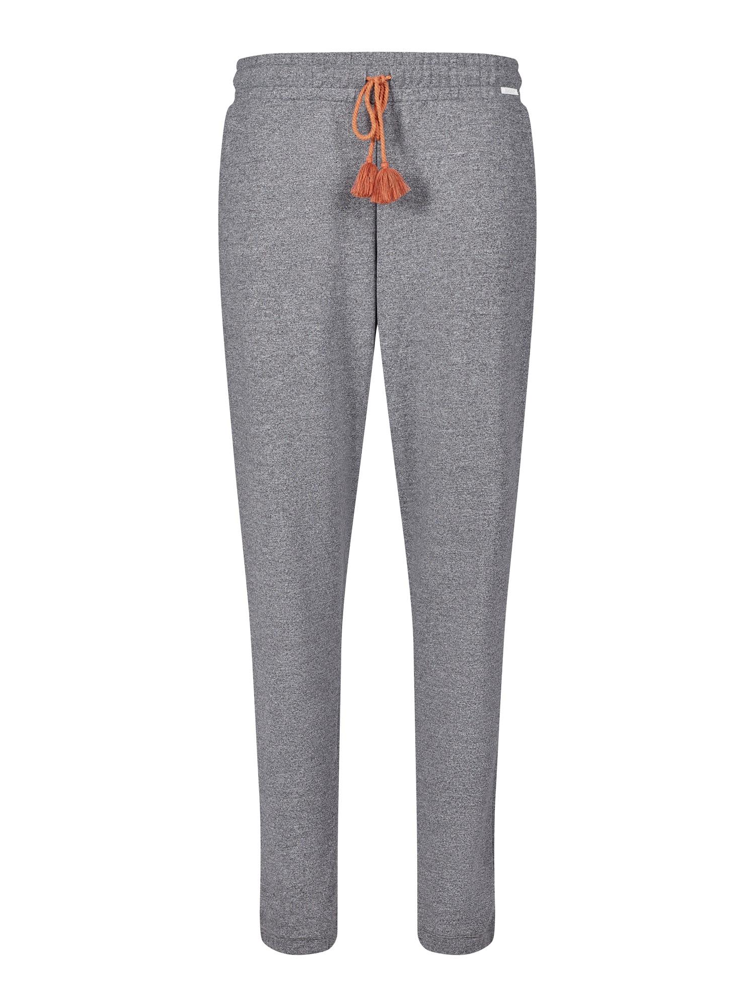 Skiny Pyžamové kalhoty  šedý melír