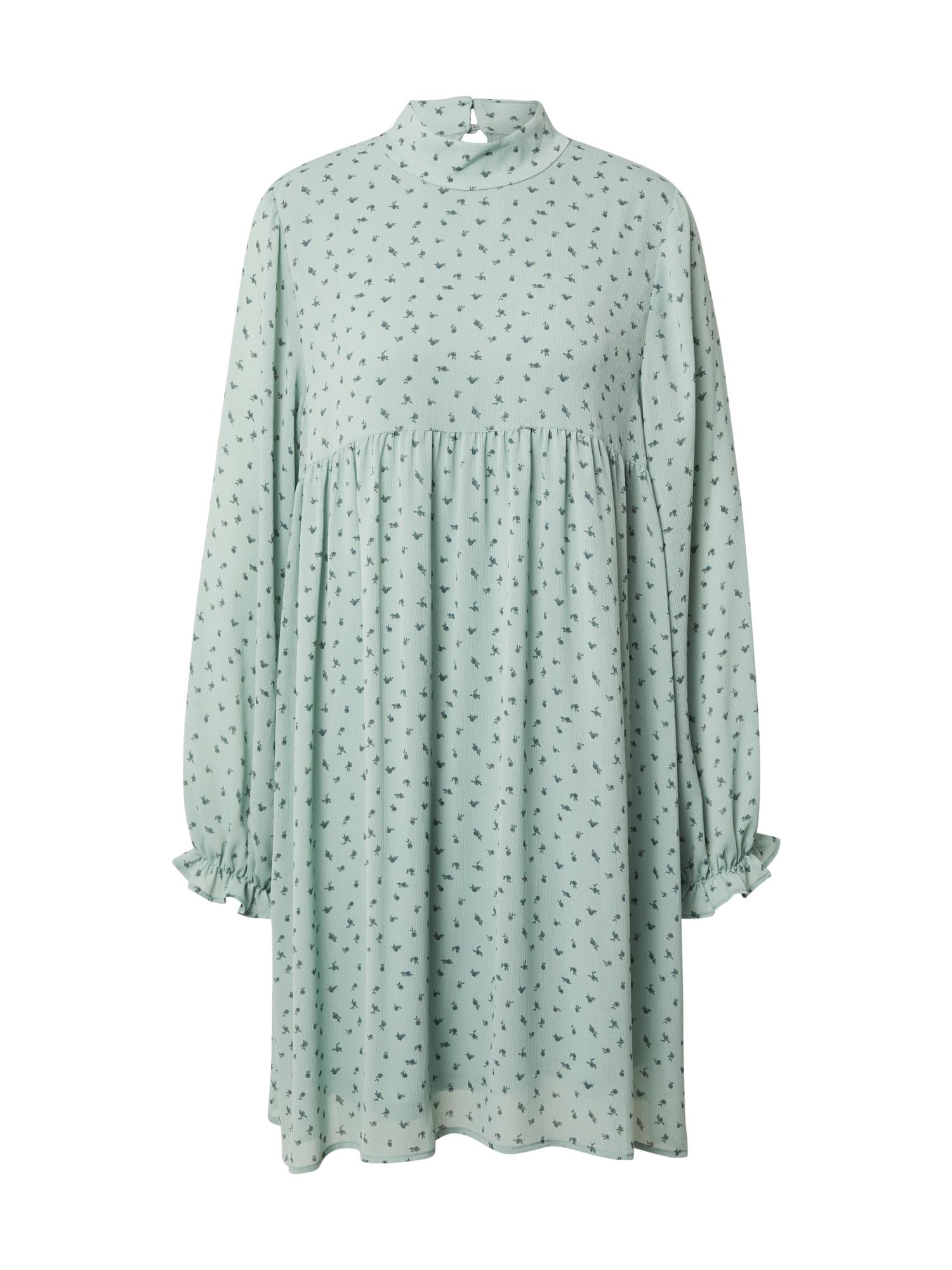 MOSS COPENHAGEN Šaty 'Ginna'  mátová / tmavě modrá