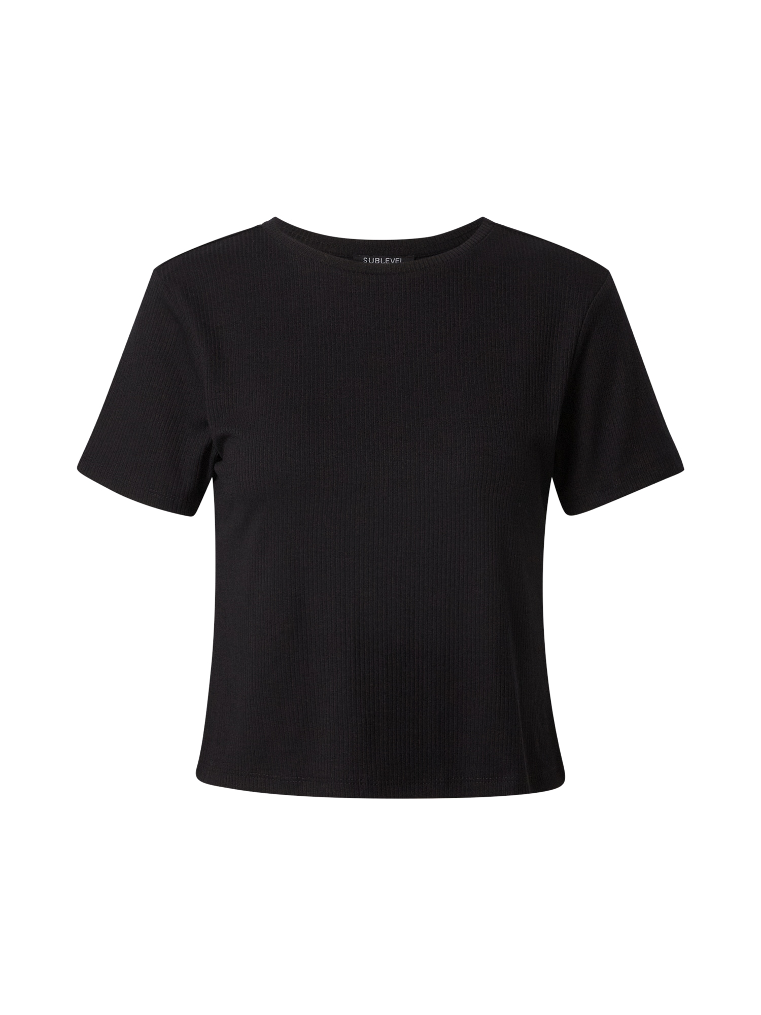 Sublevel Marškinėliai juoda