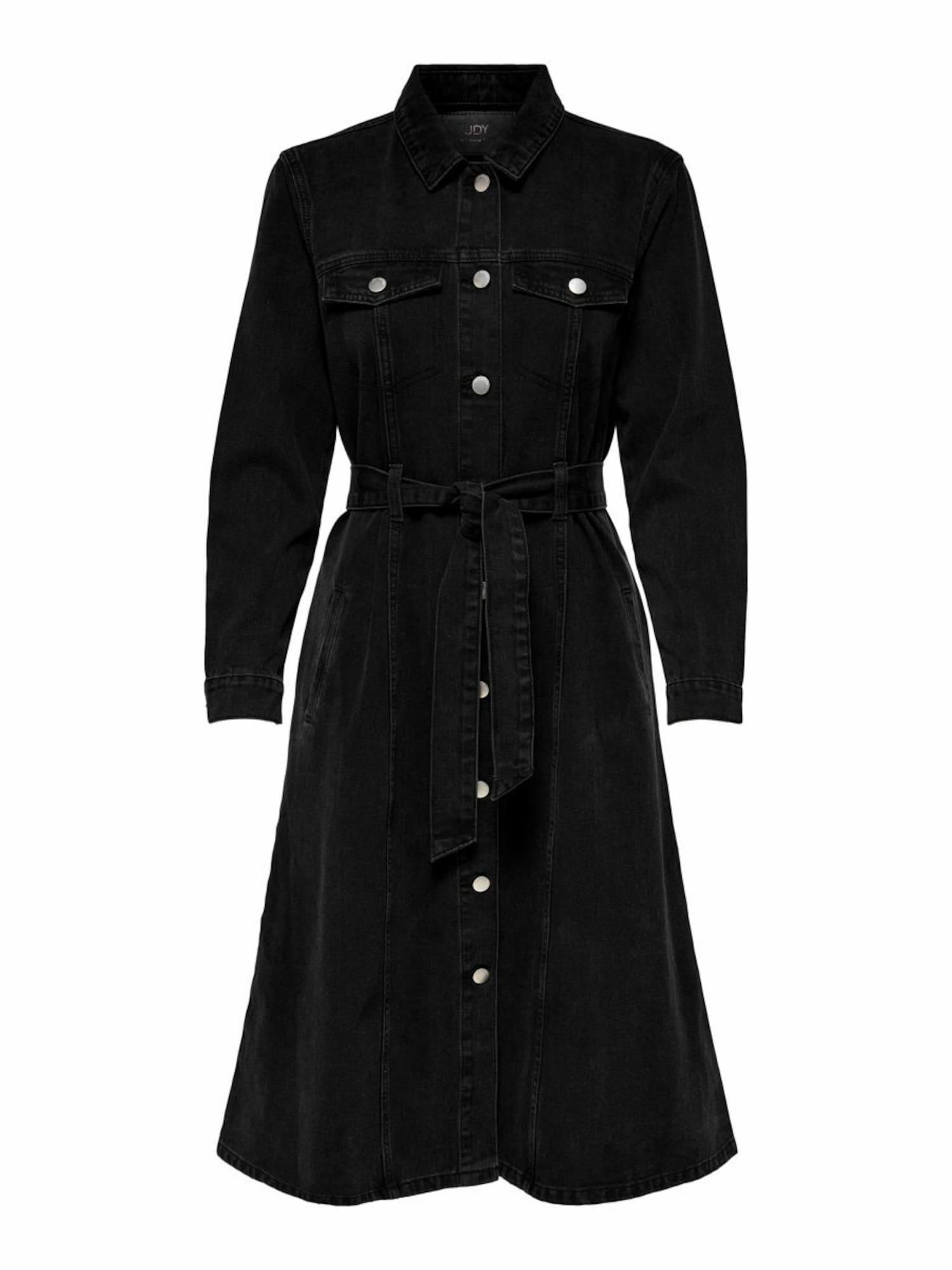 JACQUELINE de YONG Suknelė juodo džinso spalva