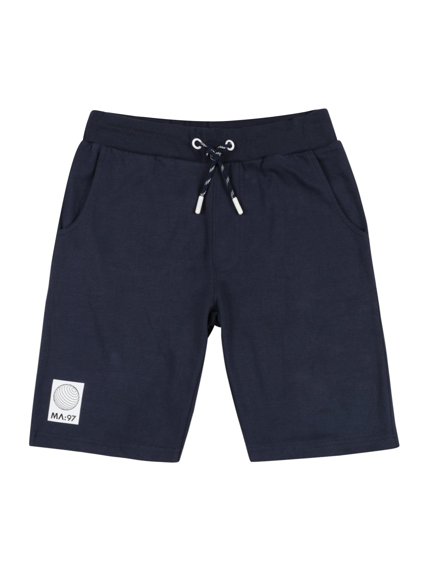 STACCATO Kelnės tamsiai mėlyna / balta