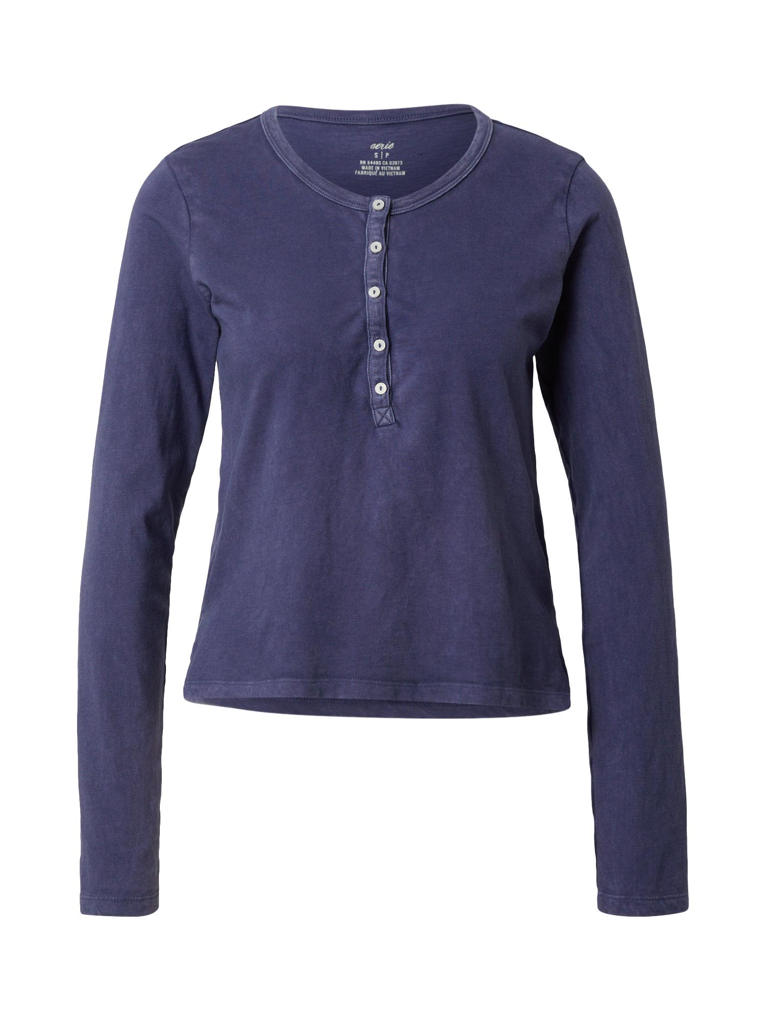 AERIE Marškinėliai tamsiai mėlyna