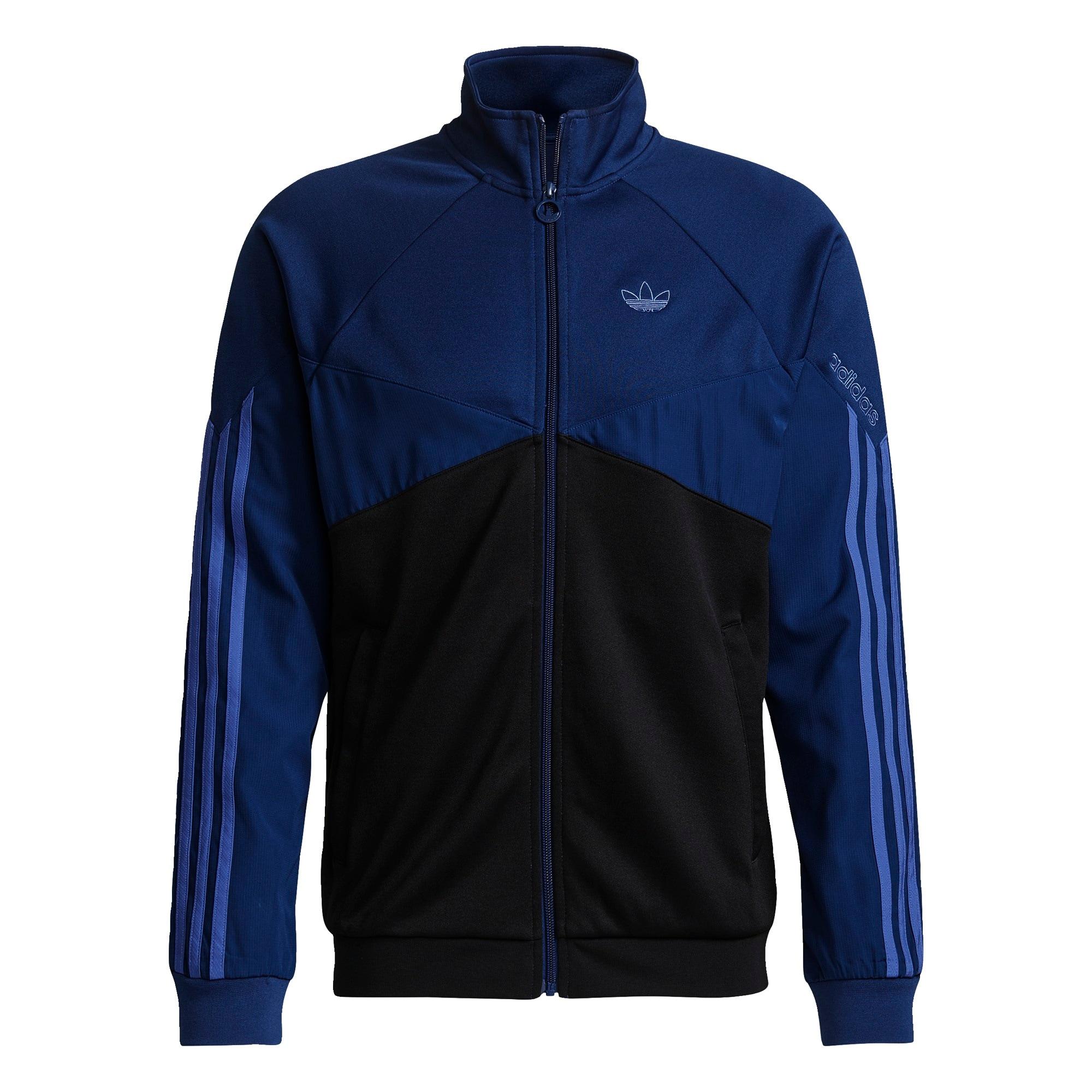 ADIDAS ORIGINALS Mikina s kapucí  tmavě modrá / černá / chladná modrá