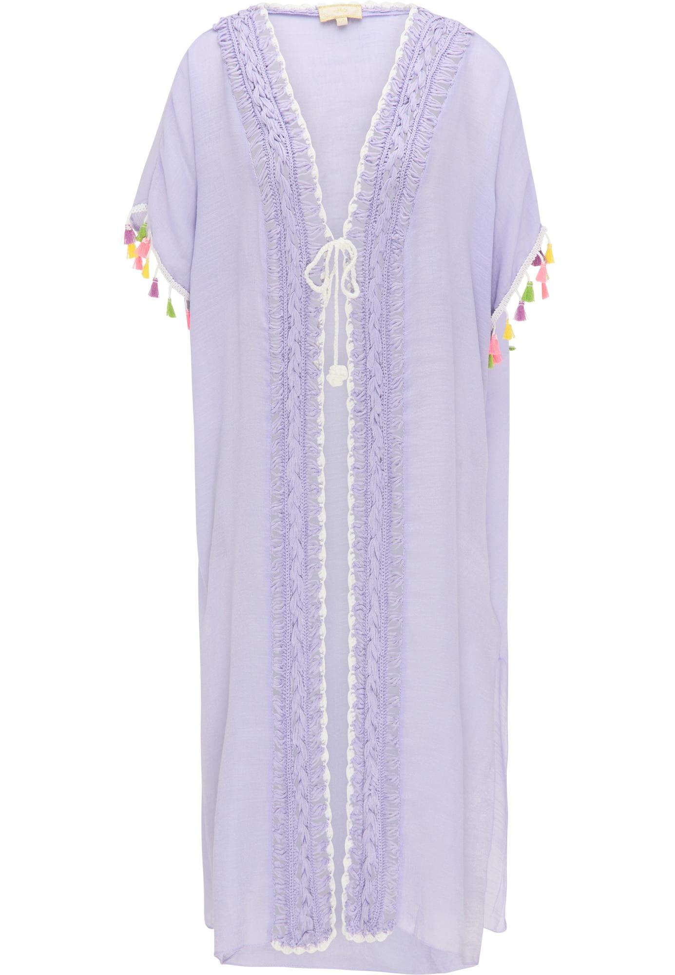 MYMO Kimono šviesiai violetinė / mišrios spalvos