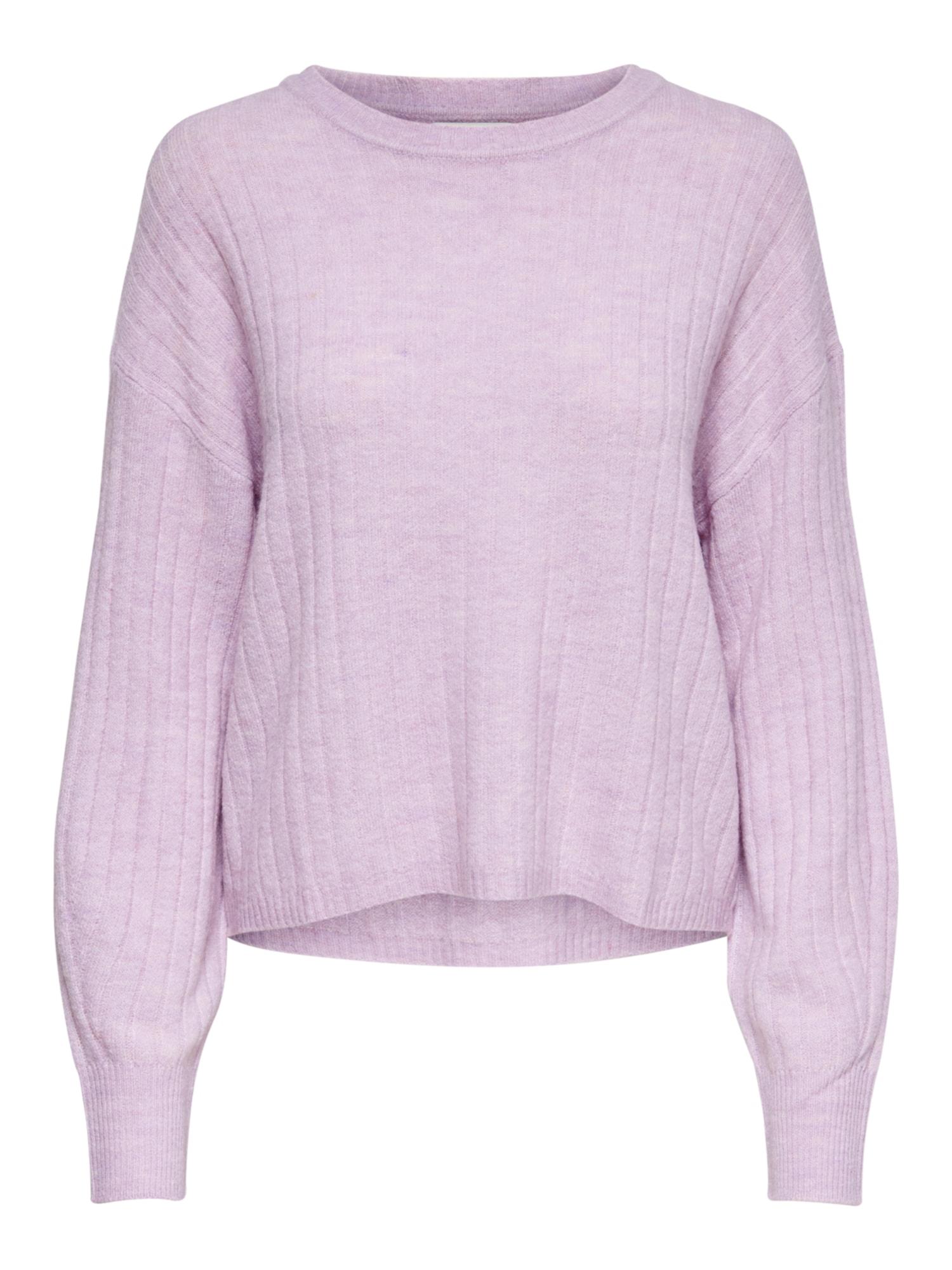ONLY Megztinis 'Corinne' pastelinė violetinė
