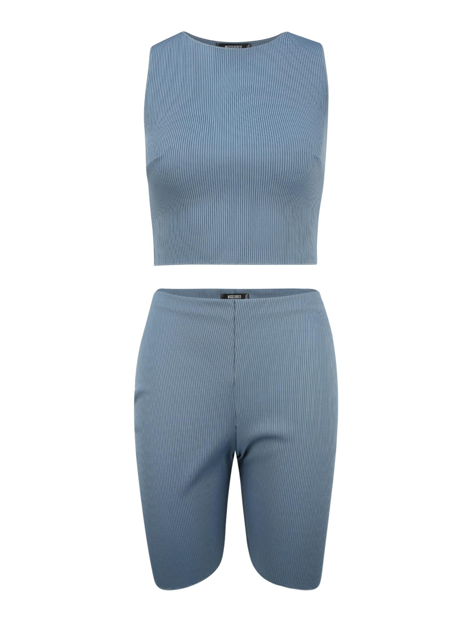 Missguided (Petite) Naminis kostiumas mėlyna
