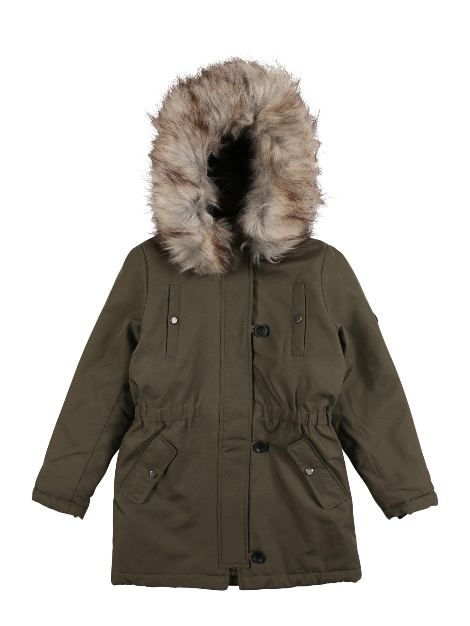 KIDS ONLY Zimní bunda 'Niris'  tmavě zelená