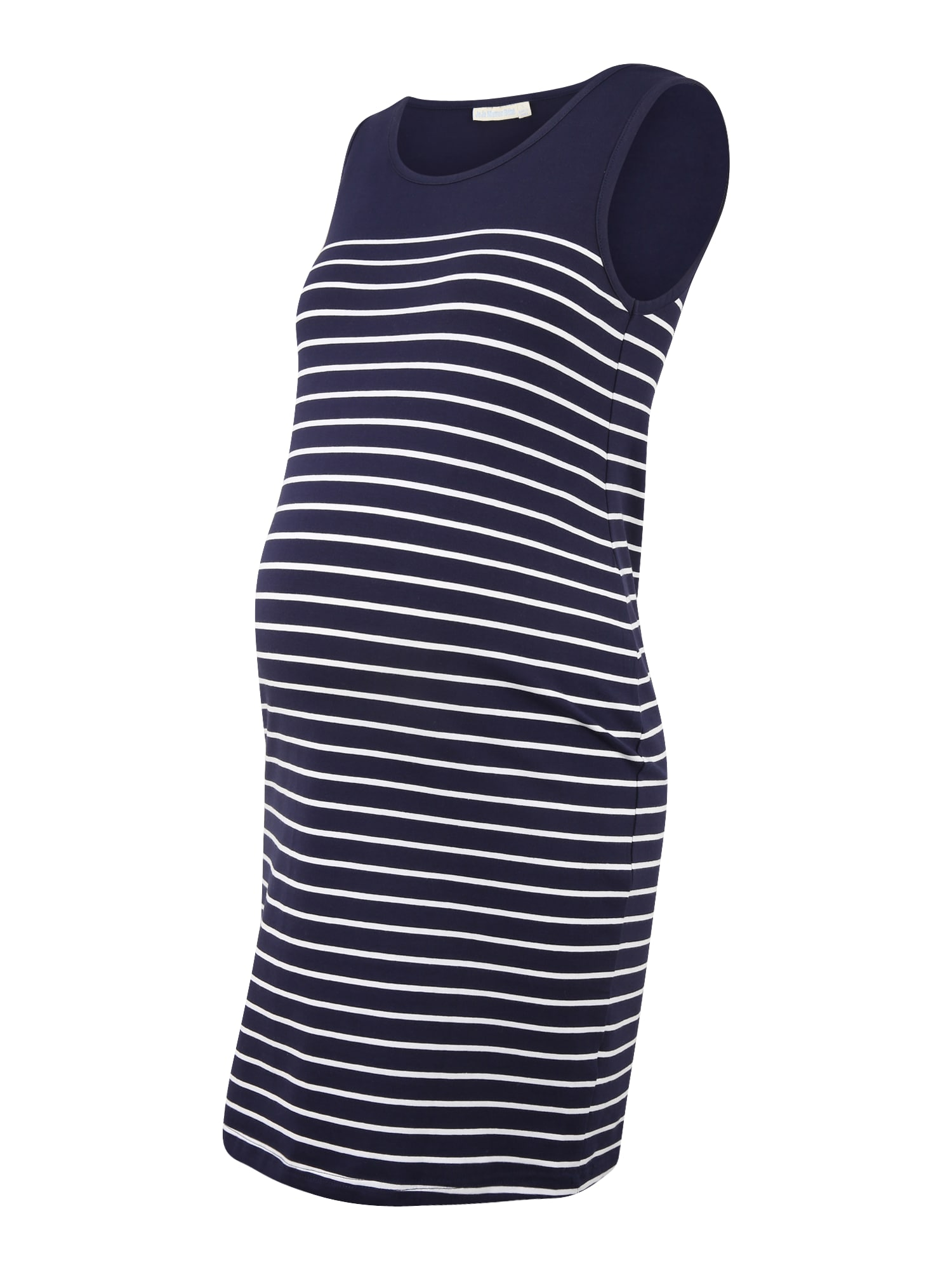 JoJo Maman Bébé Vasarinė suknelė tamsiai mėlyna / balta