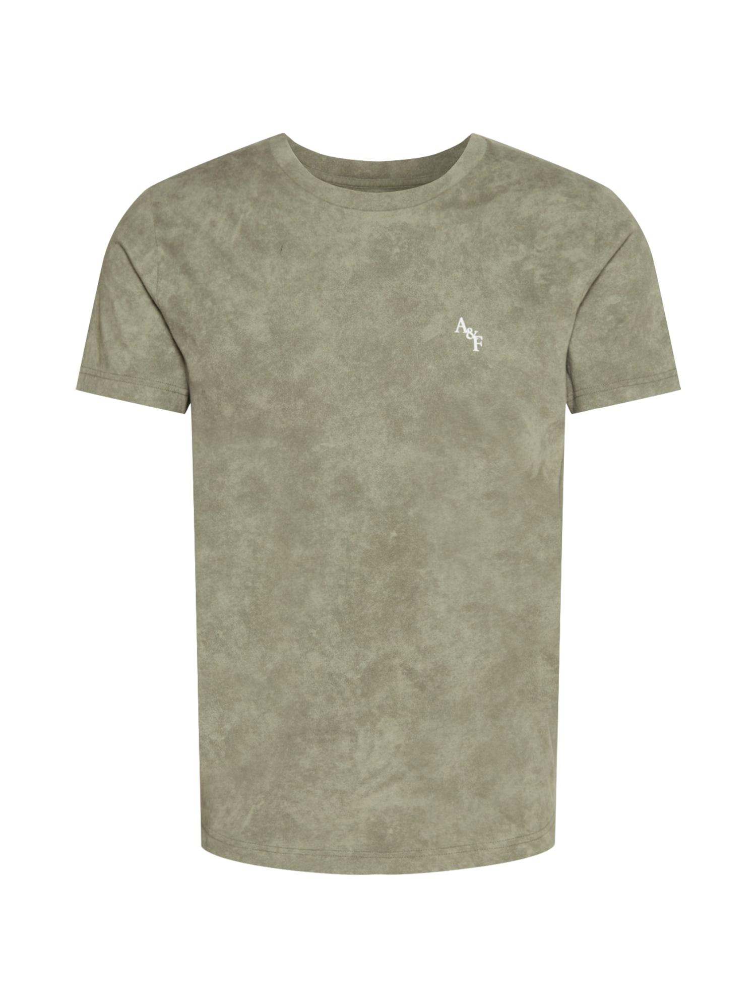 Abercrombie & Fitch Marškinėliai alyvuogių spalva