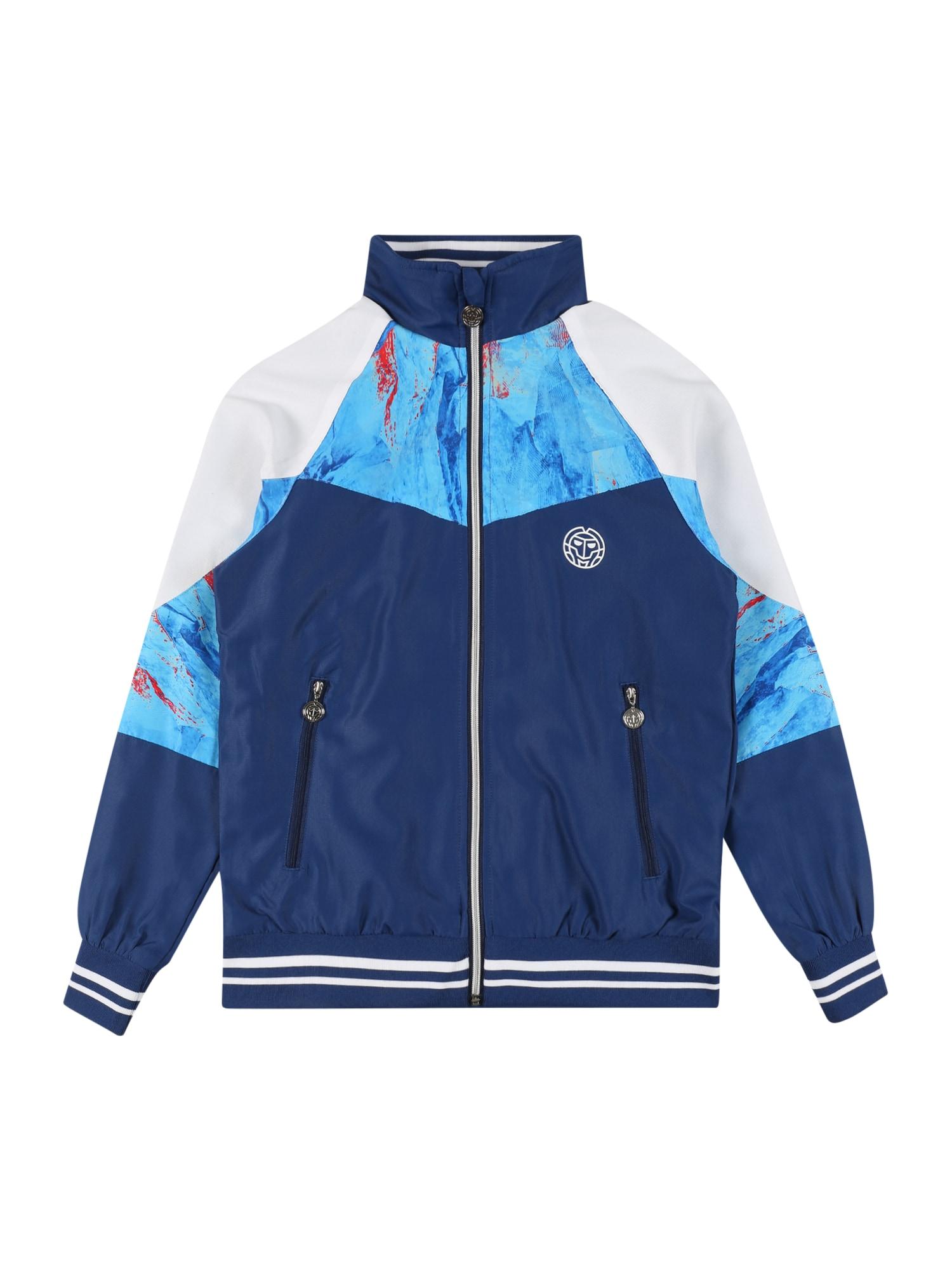 BIDI BADU Sportinė striukė tamsiai mėlyna