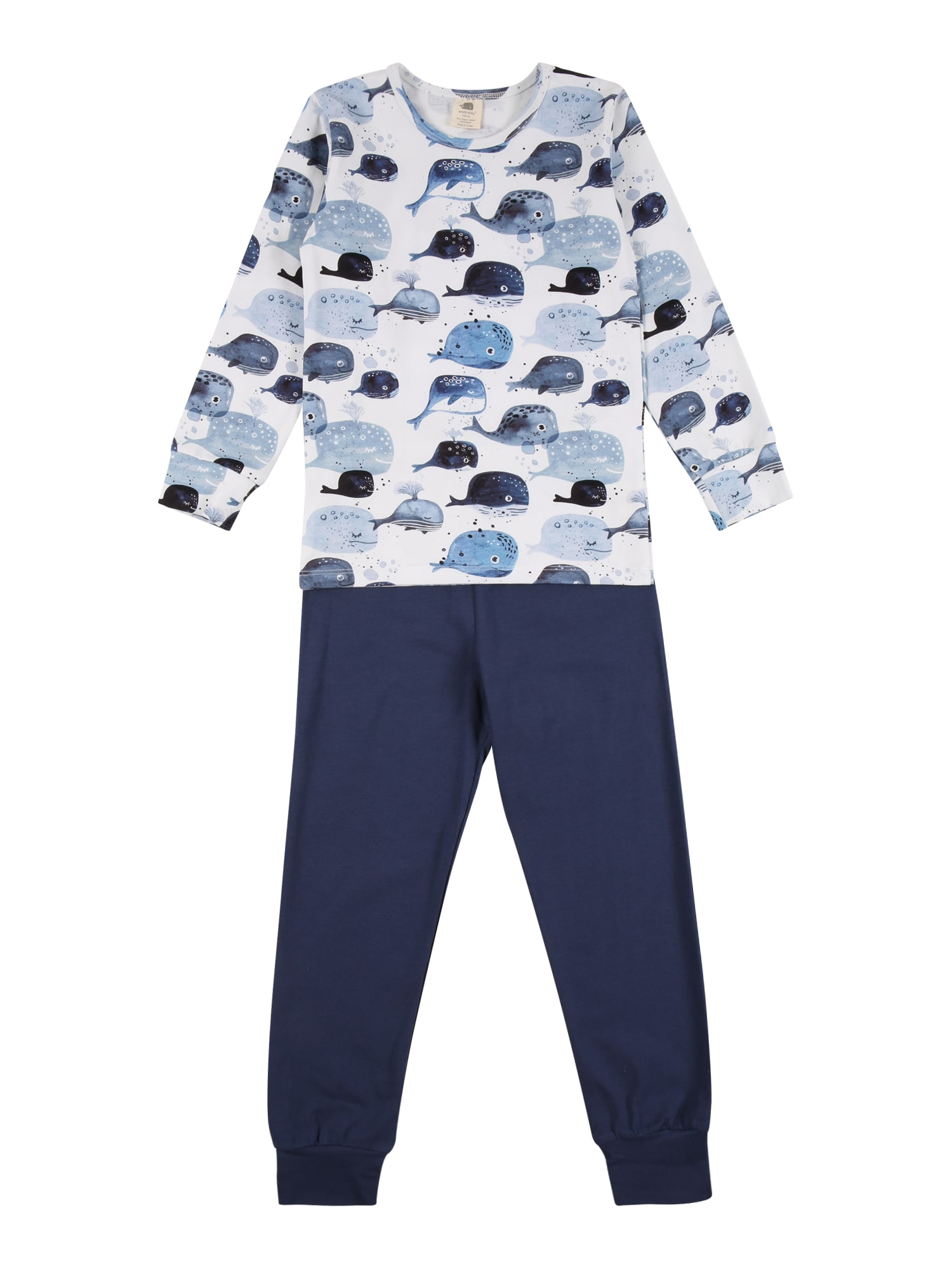 Walkiddy Miego kostiumas nakties mėlyna / šviesiai mėlyna / melsvai pilka / balta