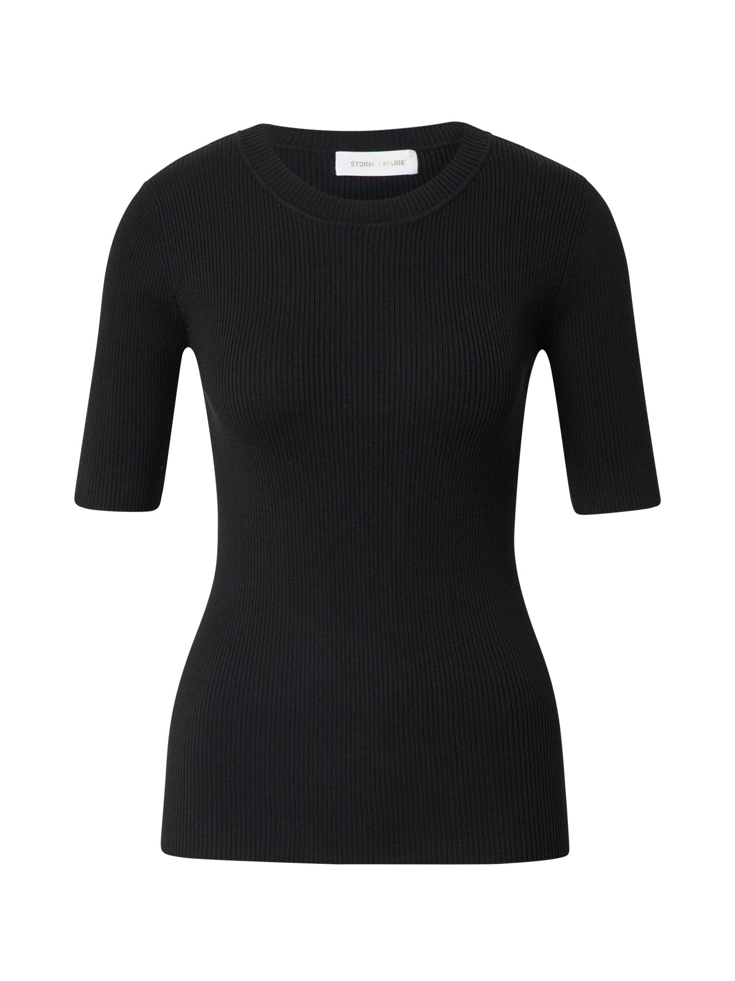 Storm & Marie Marškinėliai juoda