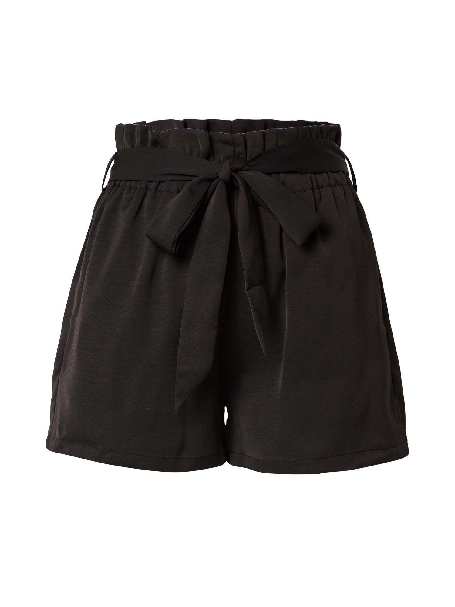 Molly BRACKEN Klostuotos kelnės juoda