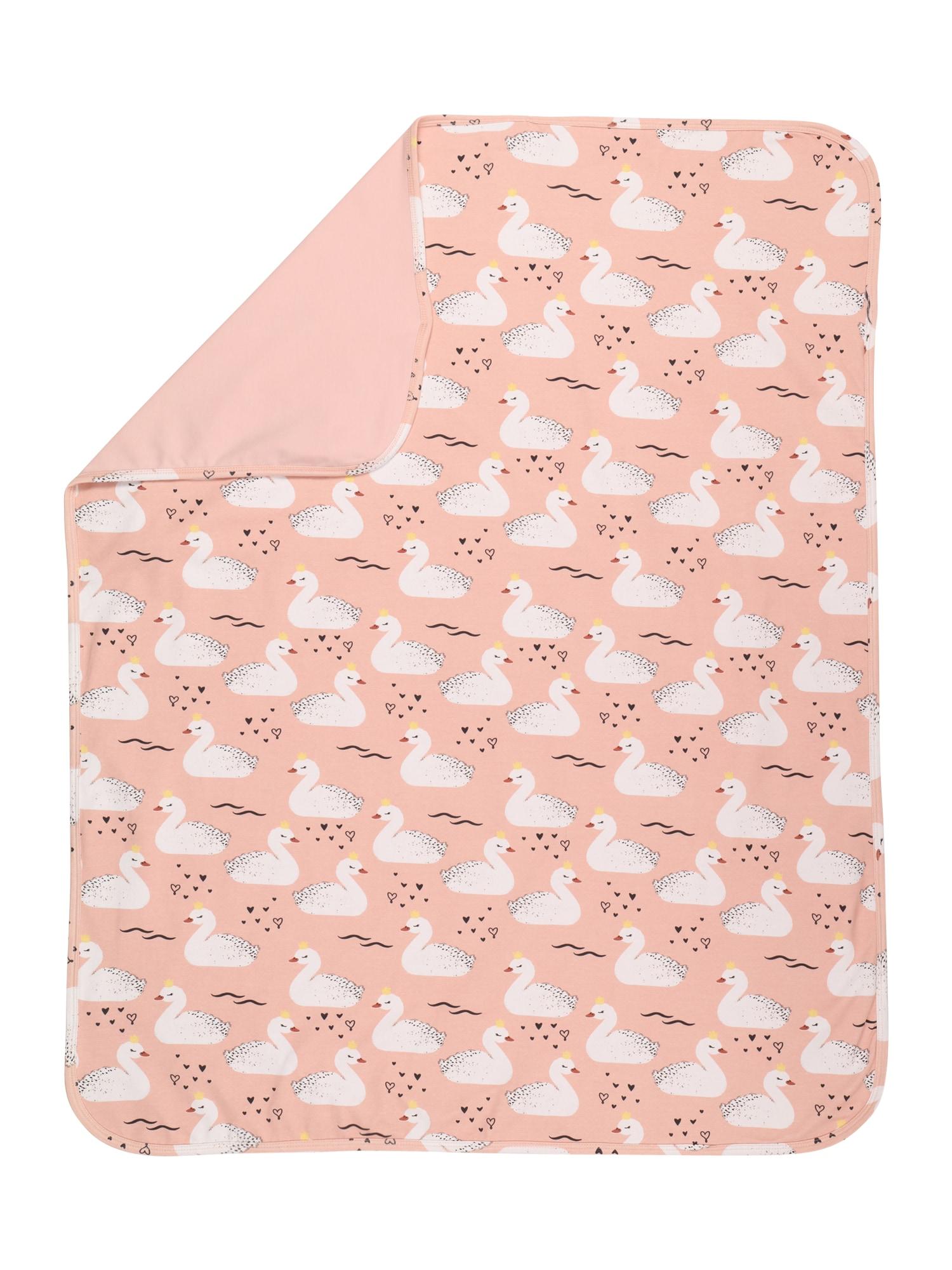 Walkiddy Kūdikio antklodė mišrios spalvos / šviesiai rožinė