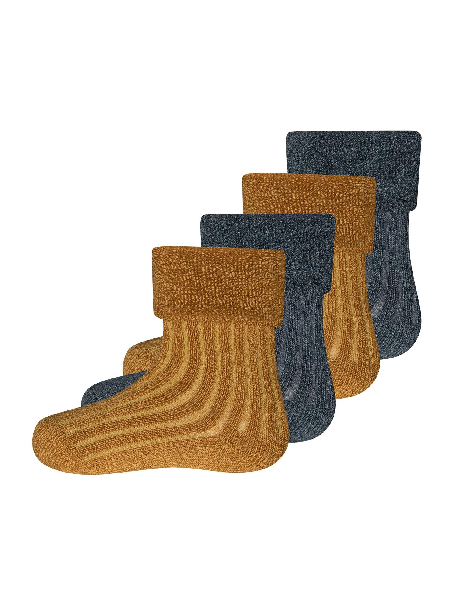 EWERS Kojinės antracito / karamelės