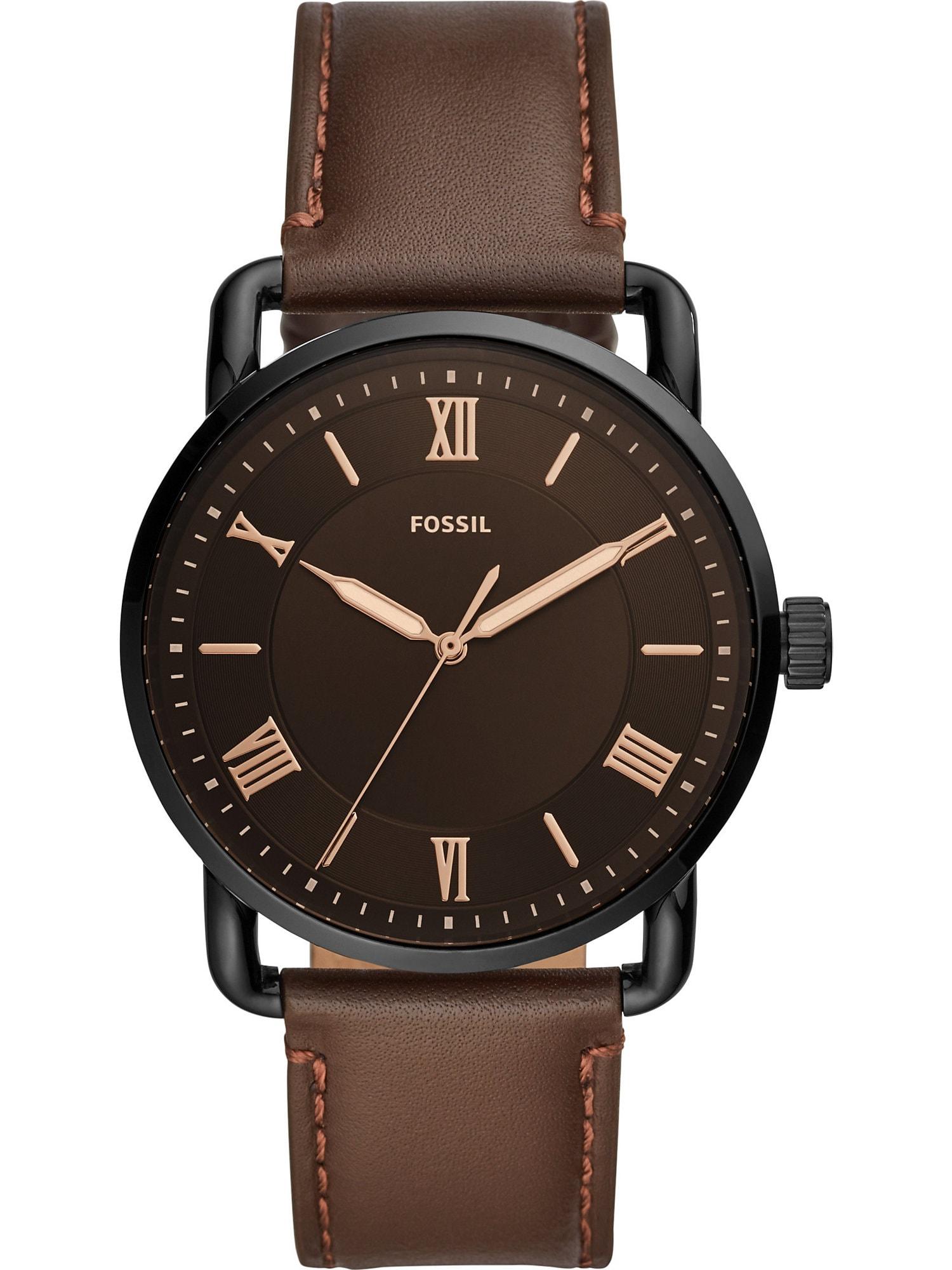 FOSSIL Analoginis (įprasto dizaino) laikrodis ruda