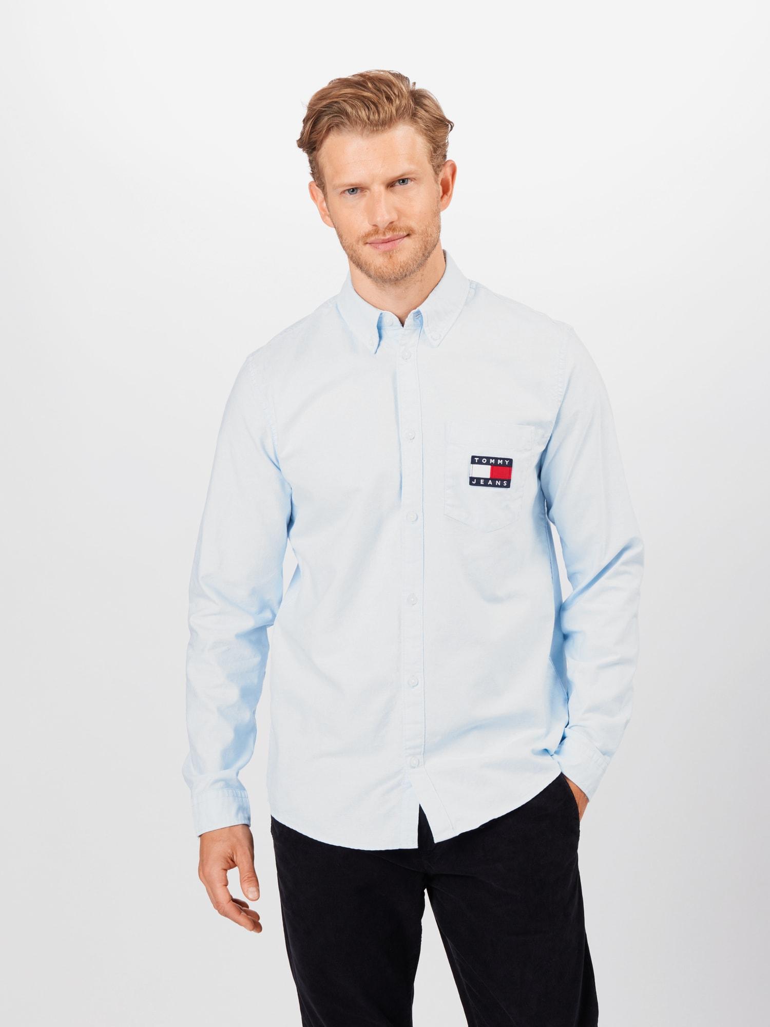 Tommy Jeans Skjorta  blå / ljusblå / röd