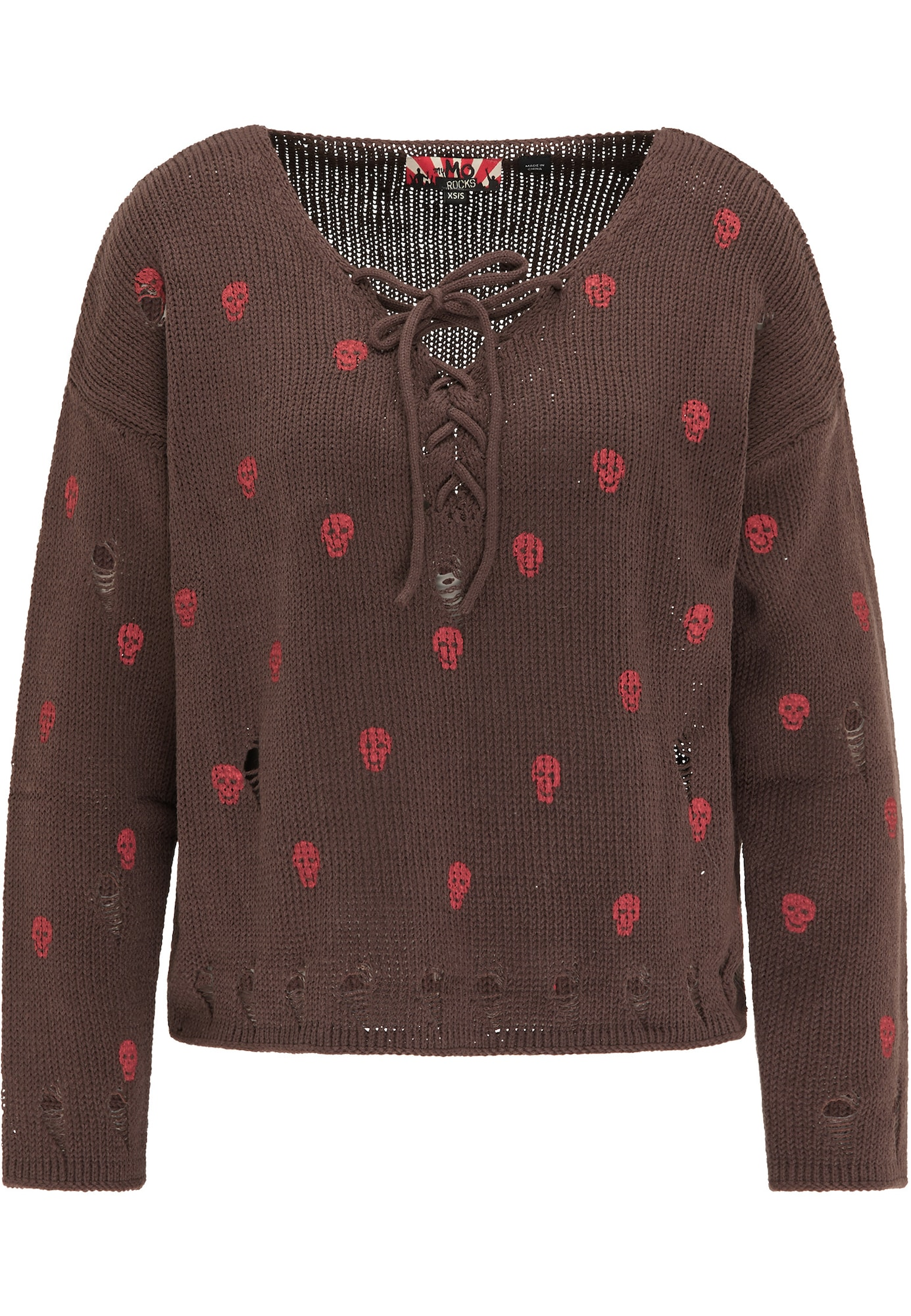myMo ROCKS Megztinis ruda / rožių spalva