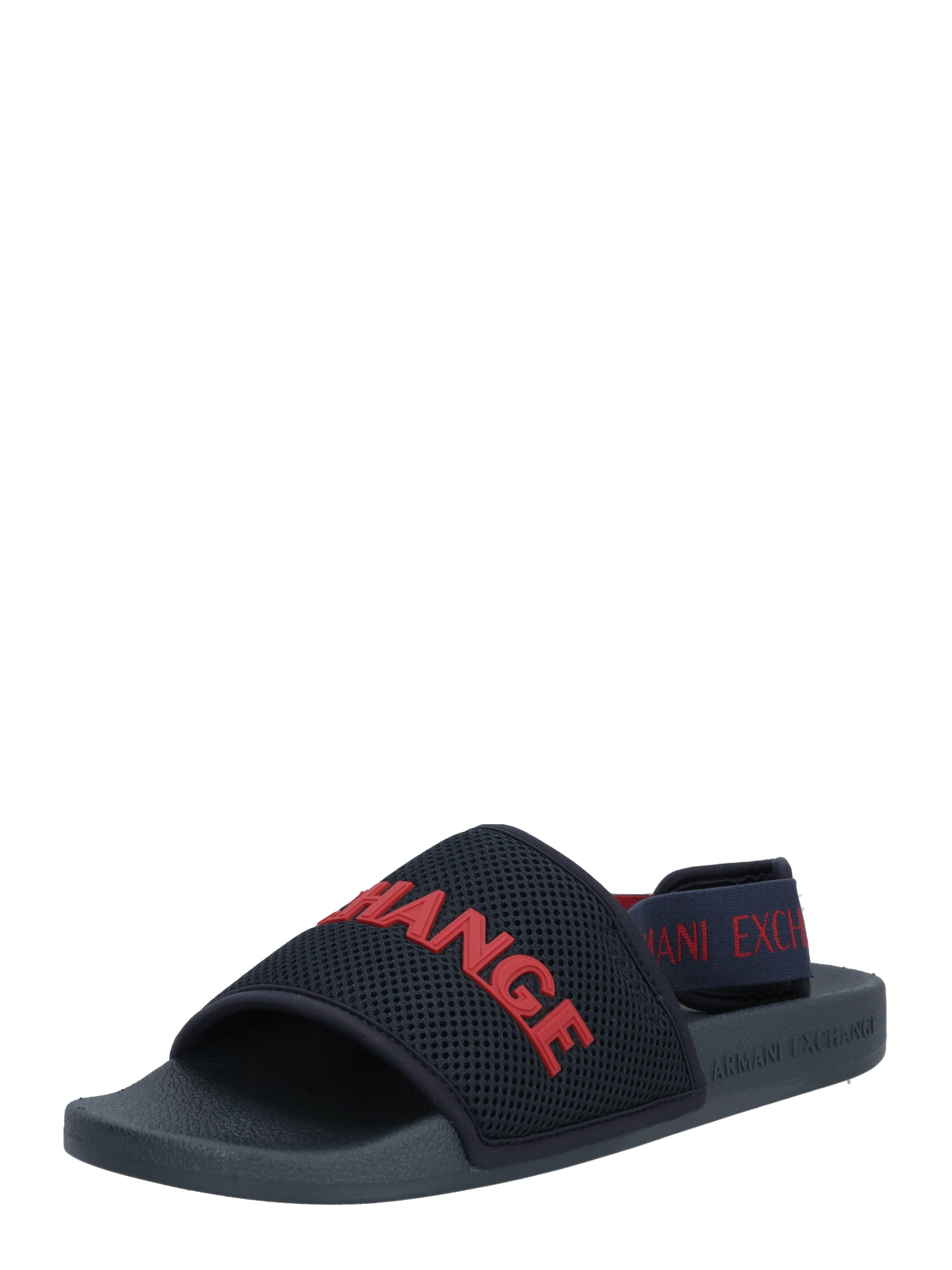 ARMANI EXCHANGE Sandalai raudona / tamsiai mėlyna
