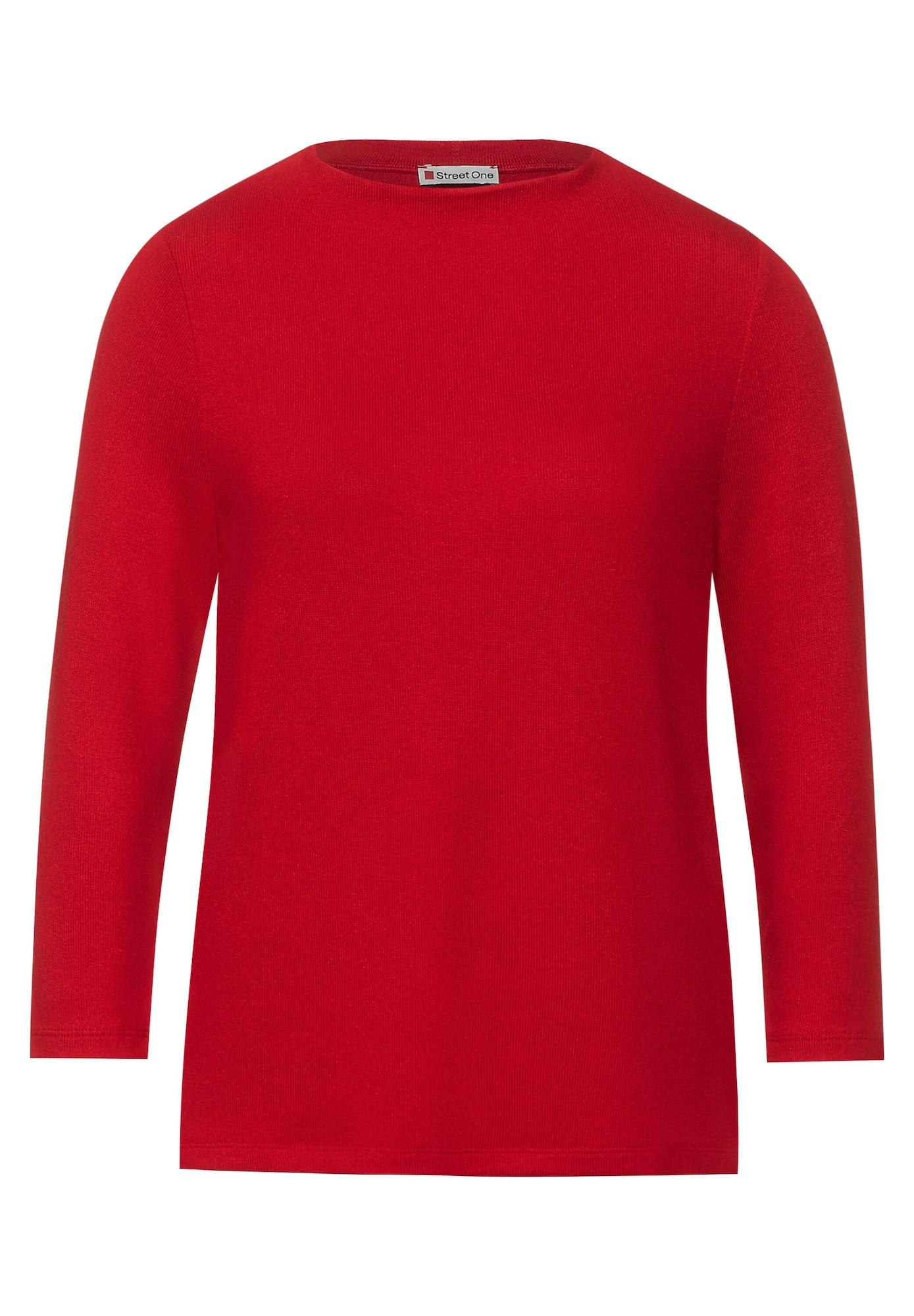 STREET ONE Tričko  červená