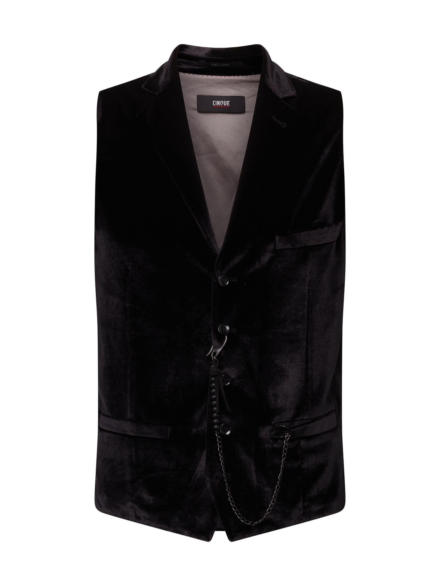 CINQUE Kostiuminė liemenė juoda
