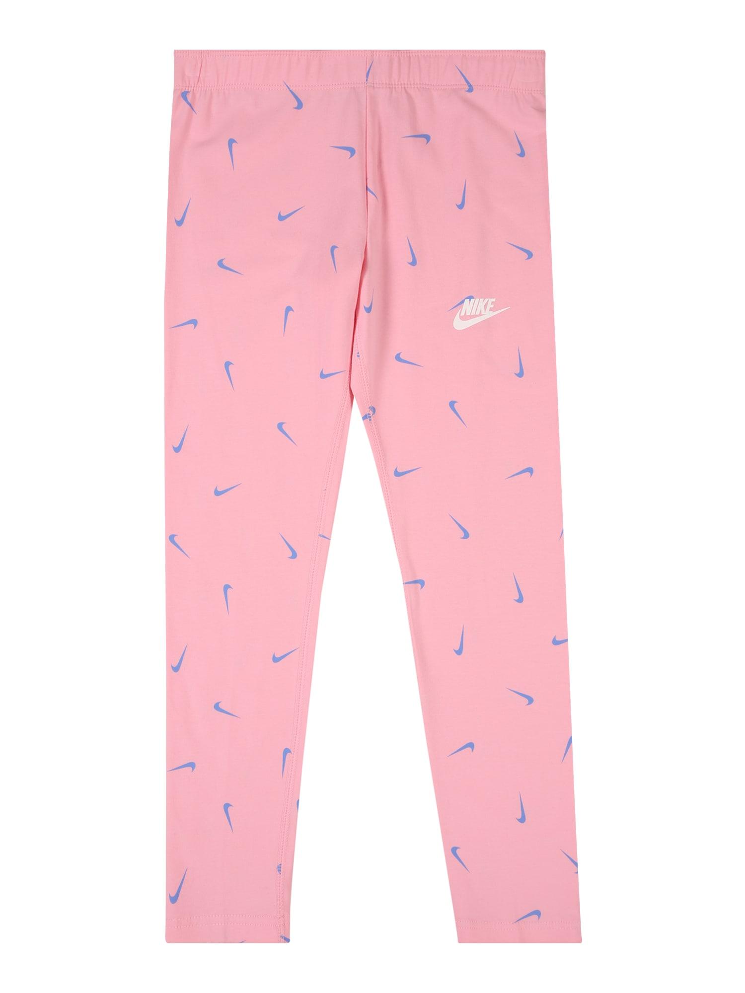 Nike Sportswear Tamprės šviesiai rožinė / šviesiai mėlyna / balta