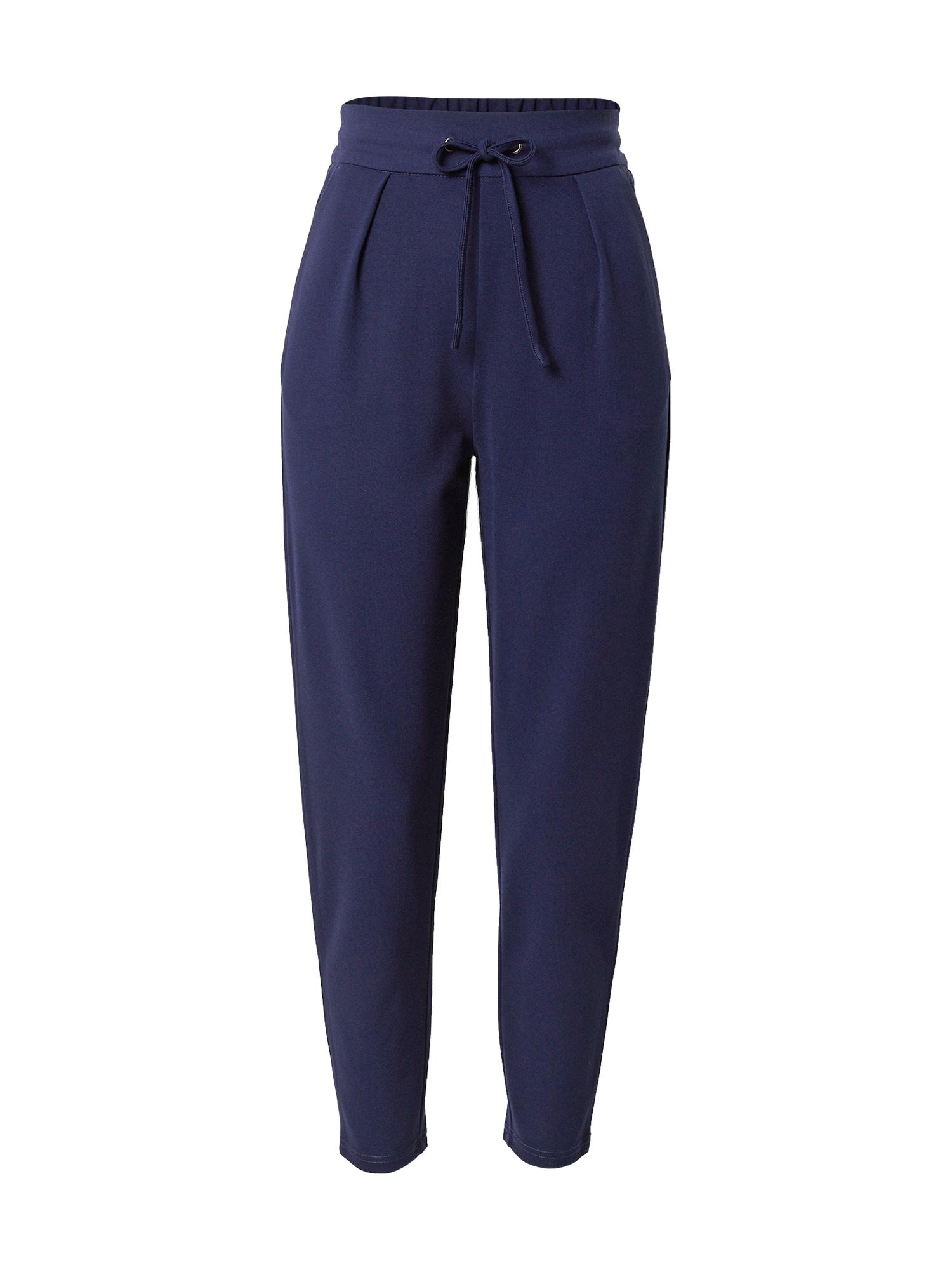 ABOUT YOU Kalhoty se sklady v pase 'Fenja'  tmavě modrá