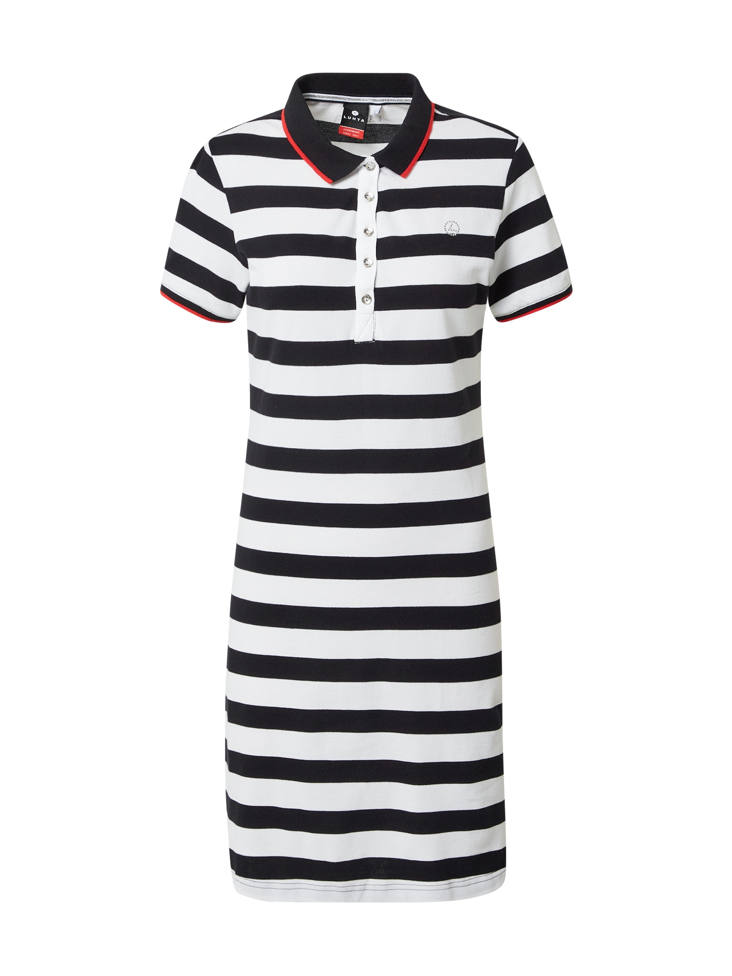 LUHTA Sportovní šaty 'AHTIALA'  námořnická modř / bílá / červená