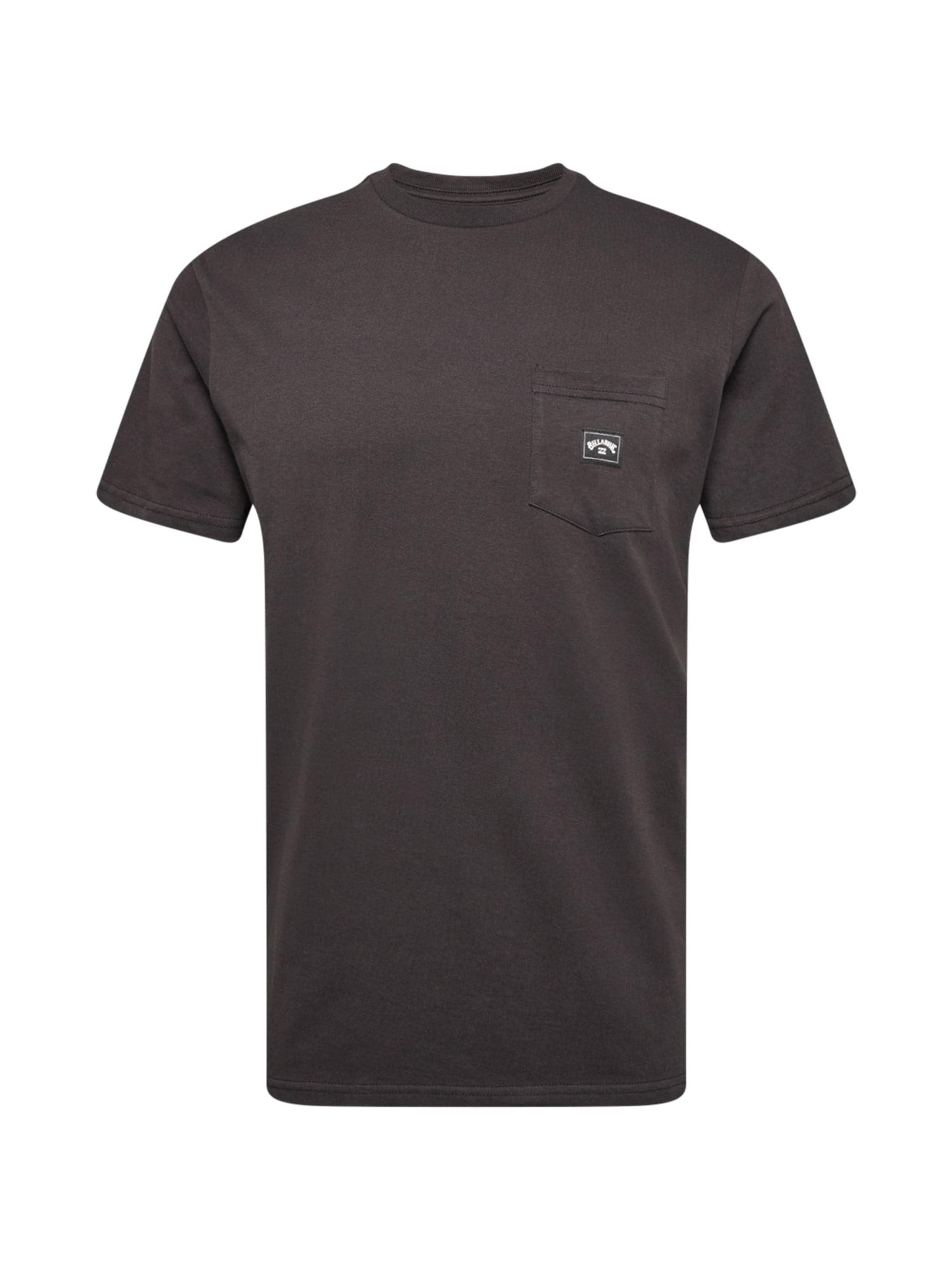 BILLABONG Marškinėliai tamsiai pilka